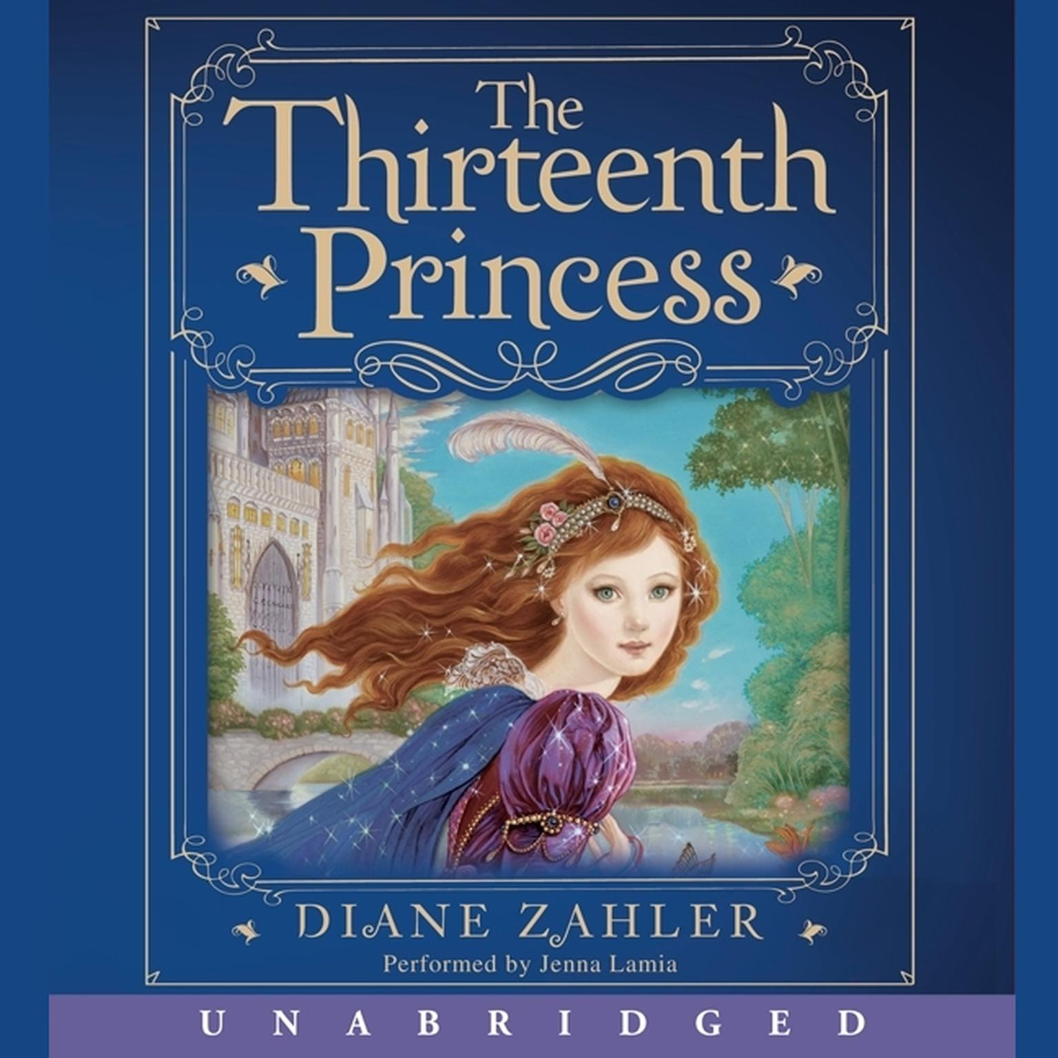 Printable The Thirteenth Princess Audiobook Cover Art
