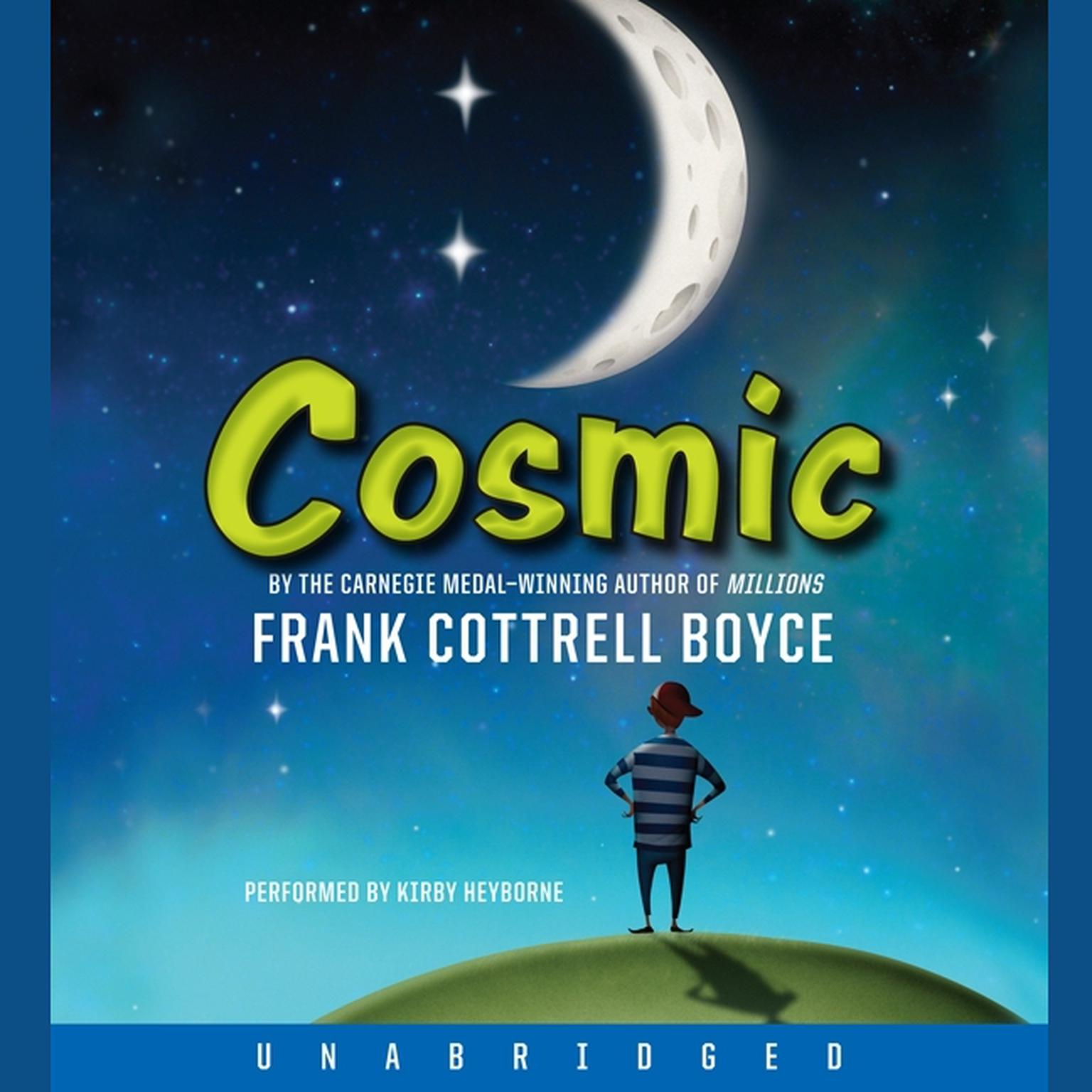 Printable Cosmic Audiobook Cover Art