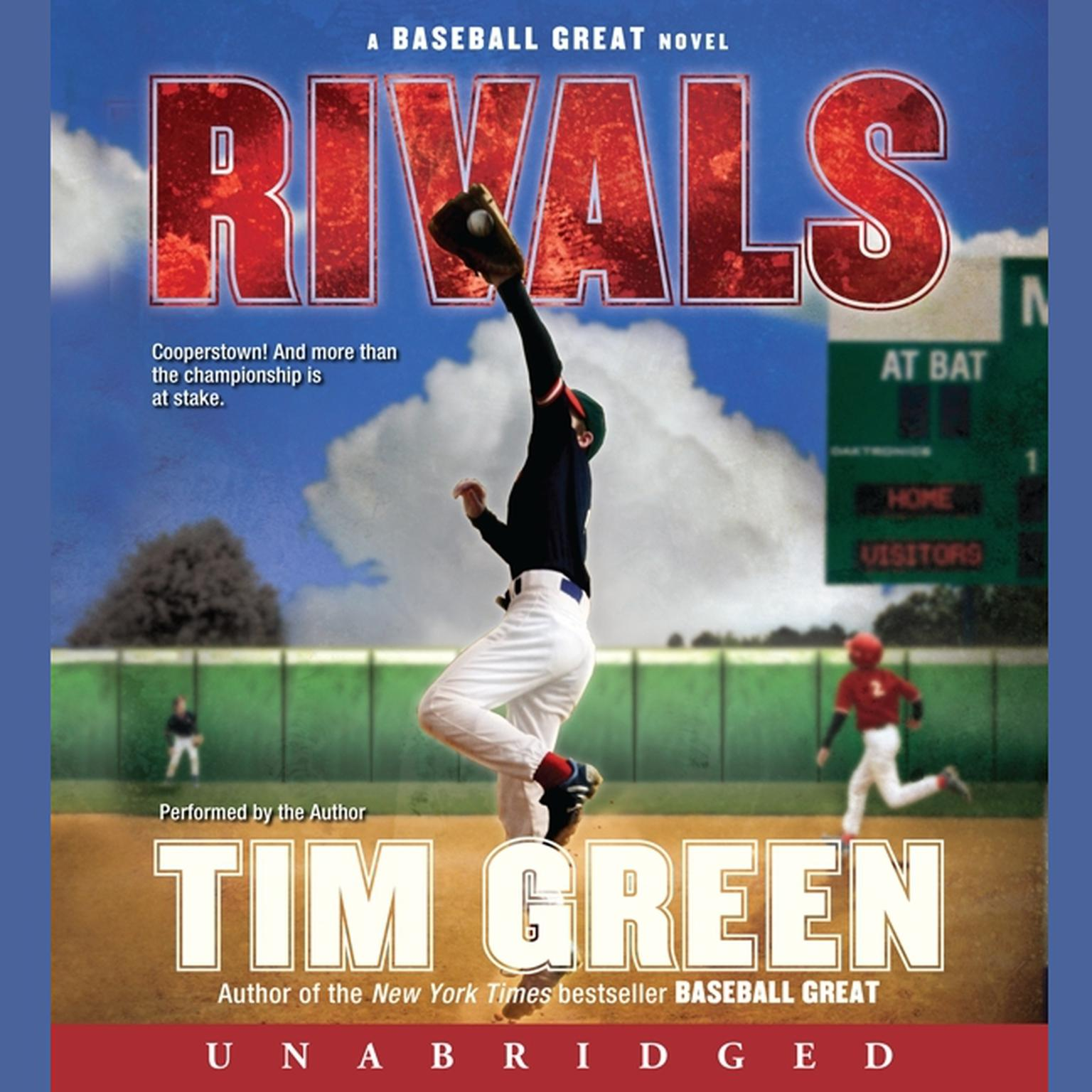 Printable Rivals: A Baseball Great Novel Audiobook Cover Art