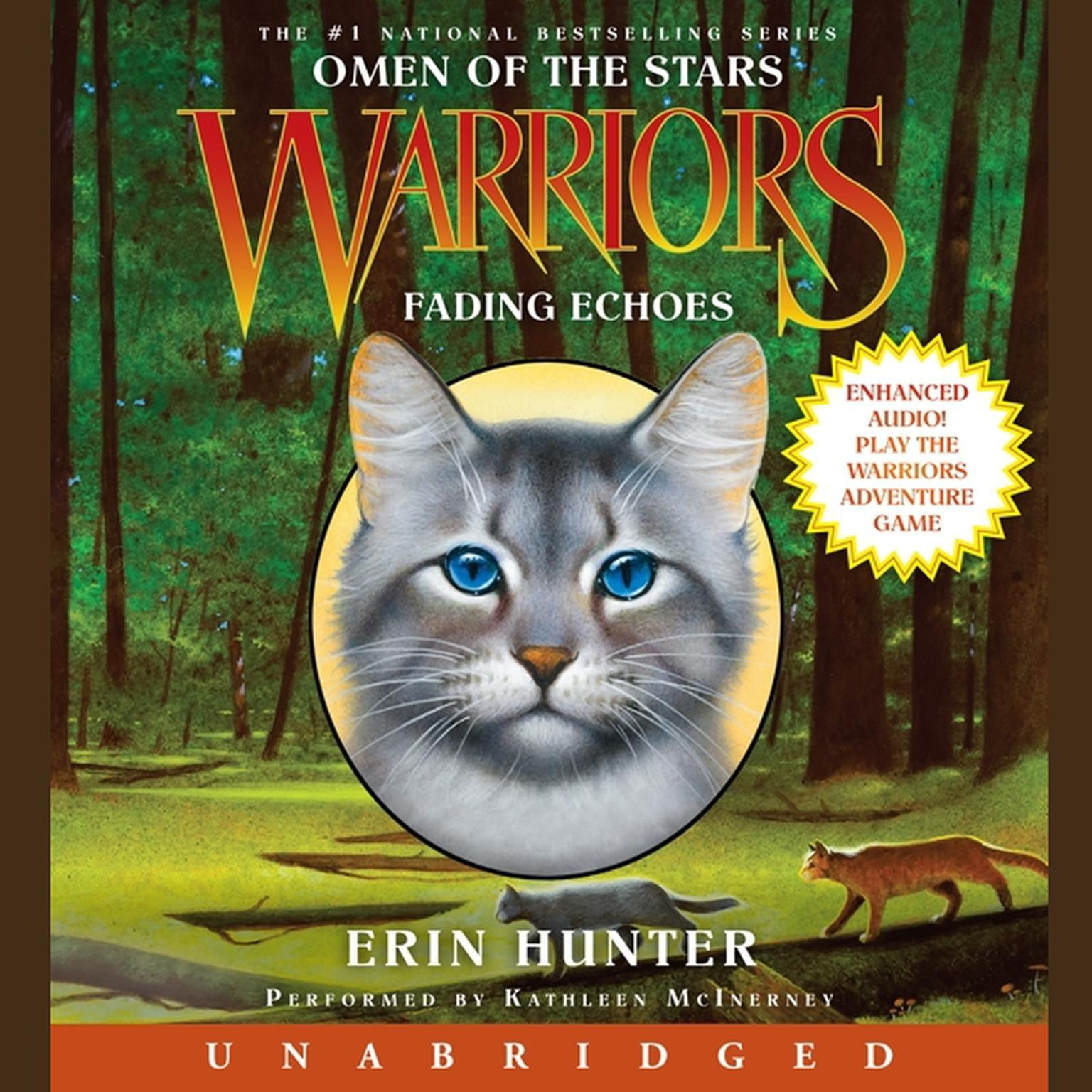 Printable Warriors: Omen of the Stars #2: Fading Echoes Audiobook Cover Art