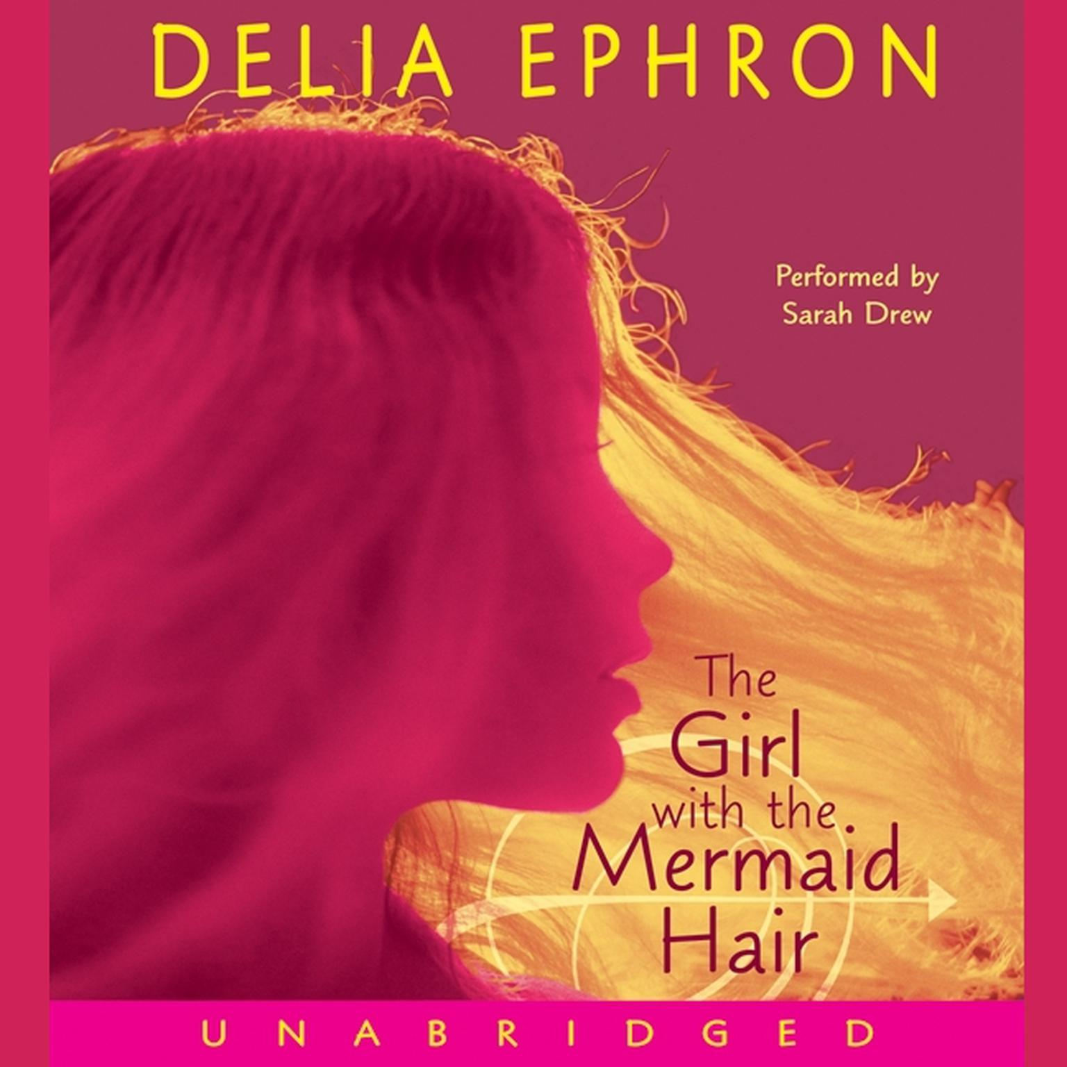 Printable The Girl with the Mermaid Hair Audiobook Cover Art