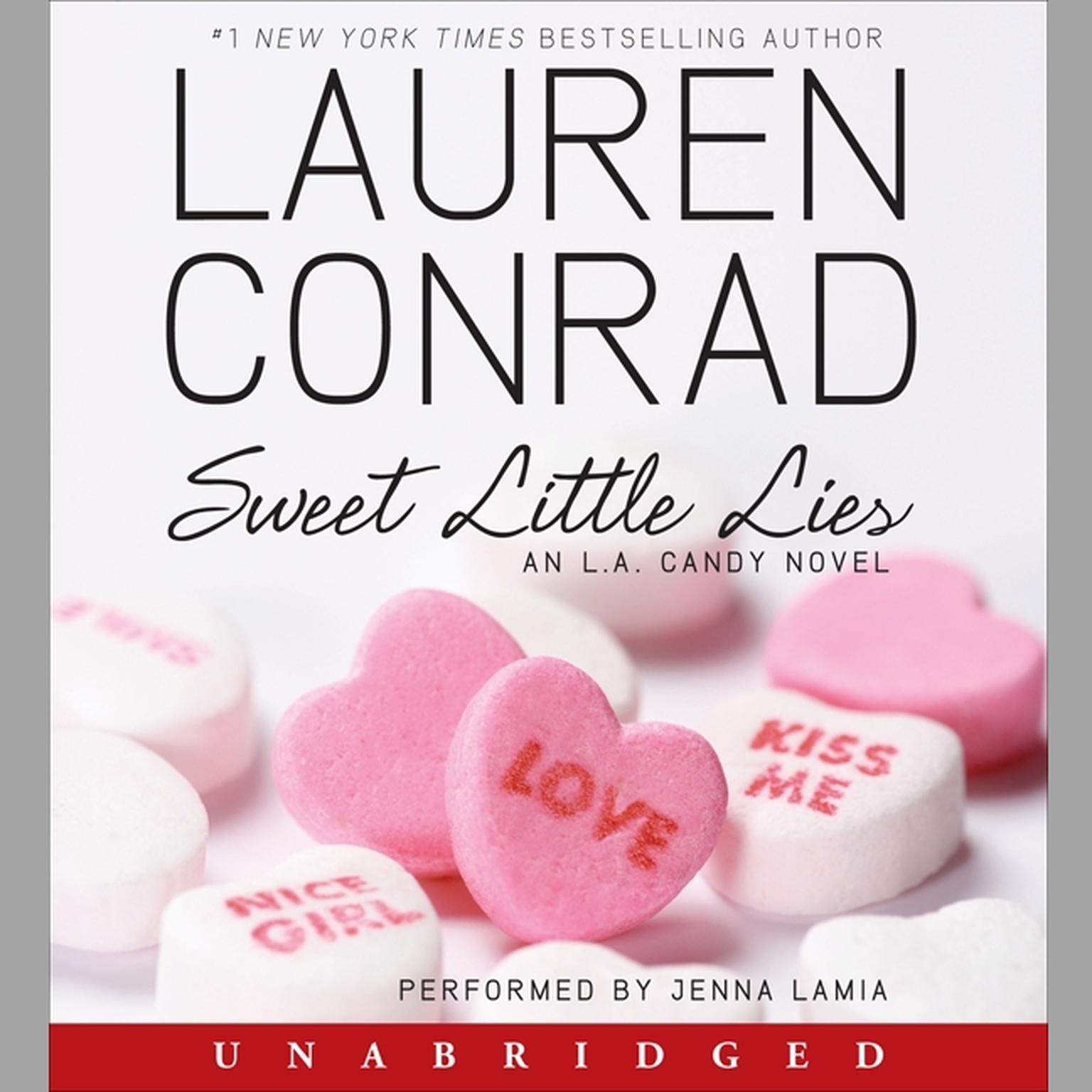 Printable Sweet Little Lies: An L.A. Candy Novel Audiobook Cover Art