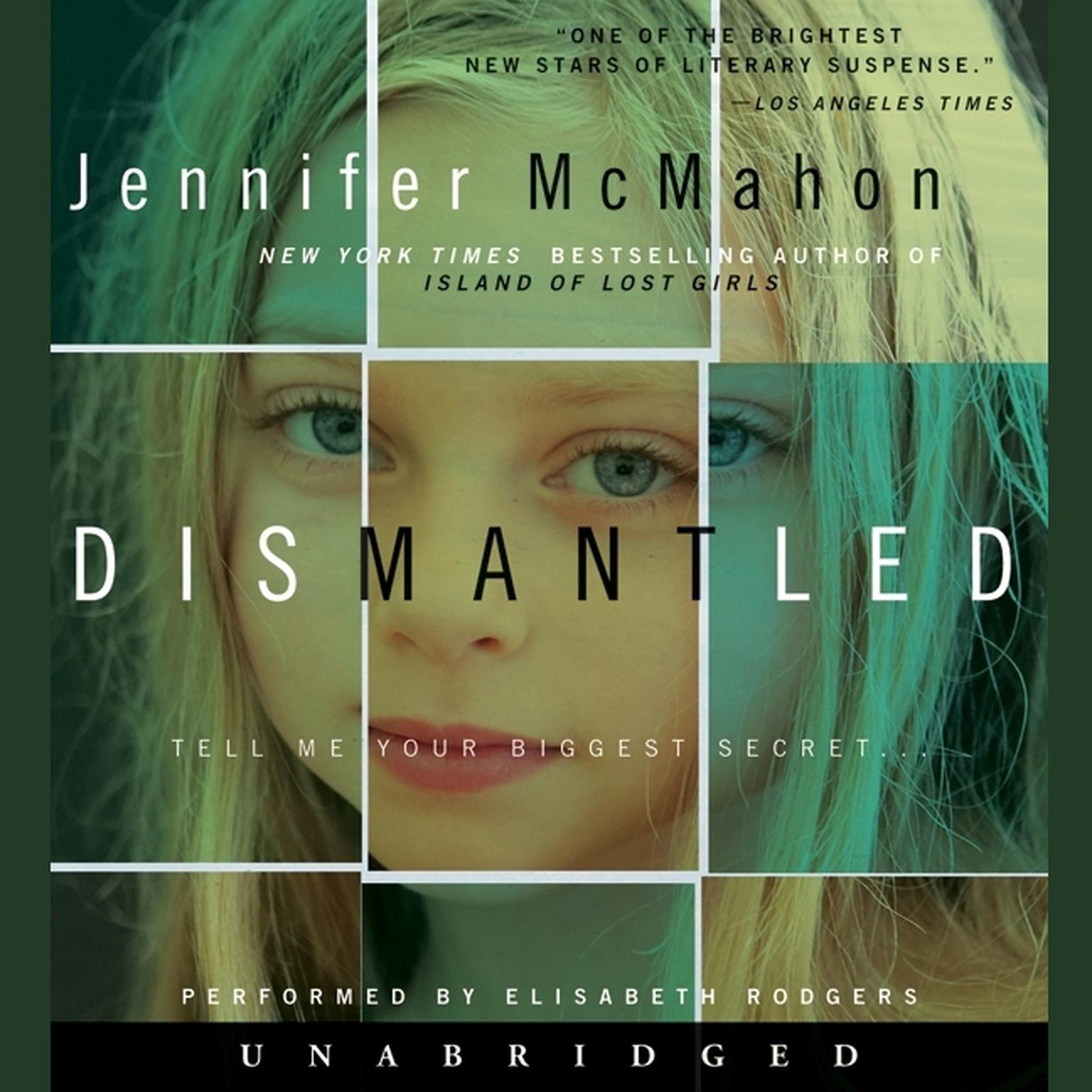 Printable Dismantled Audiobook Cover Art
