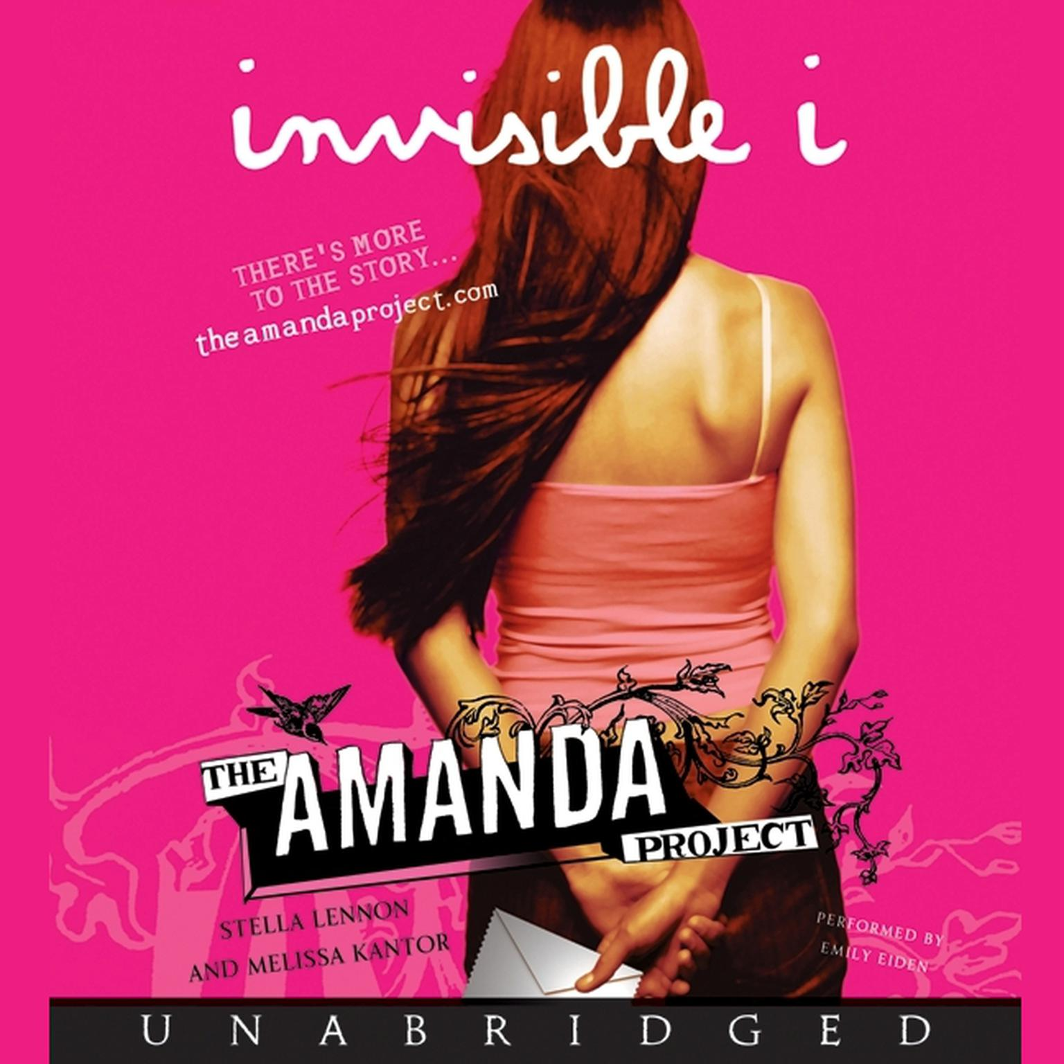 Printable The Amanda Project: Book 1: invisible I Audiobook Cover Art