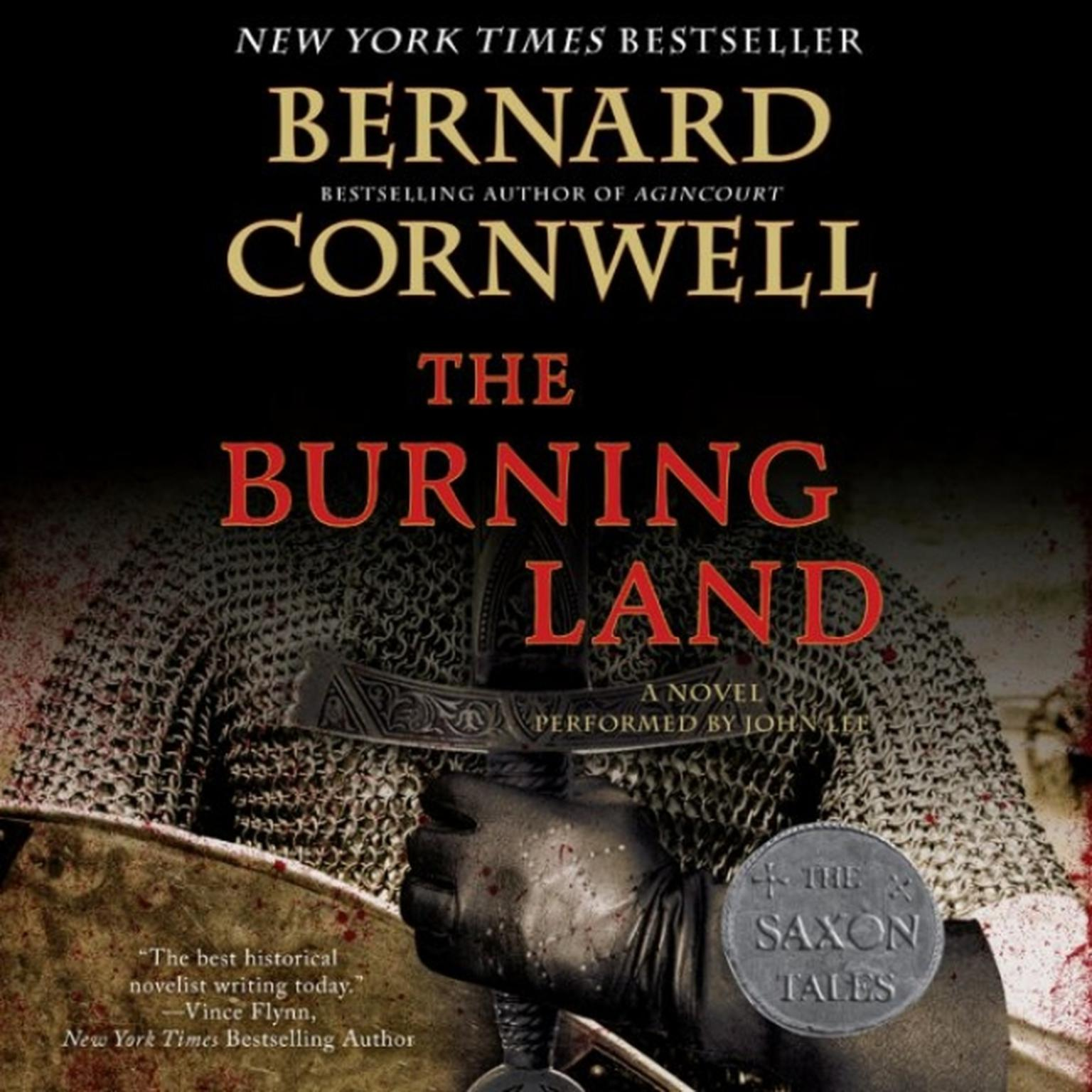 Printable The Burning Land: A Novel Audiobook Cover Art