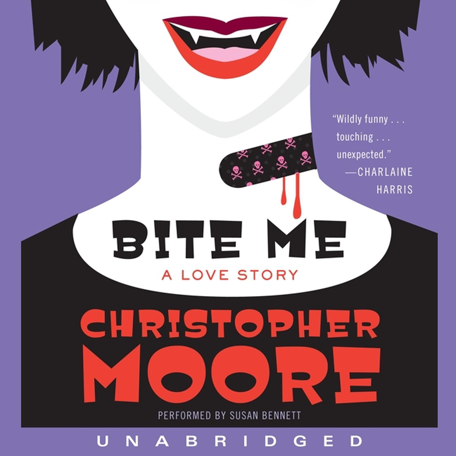 Printable Bite Me: A Love Story Audiobook Cover Art
