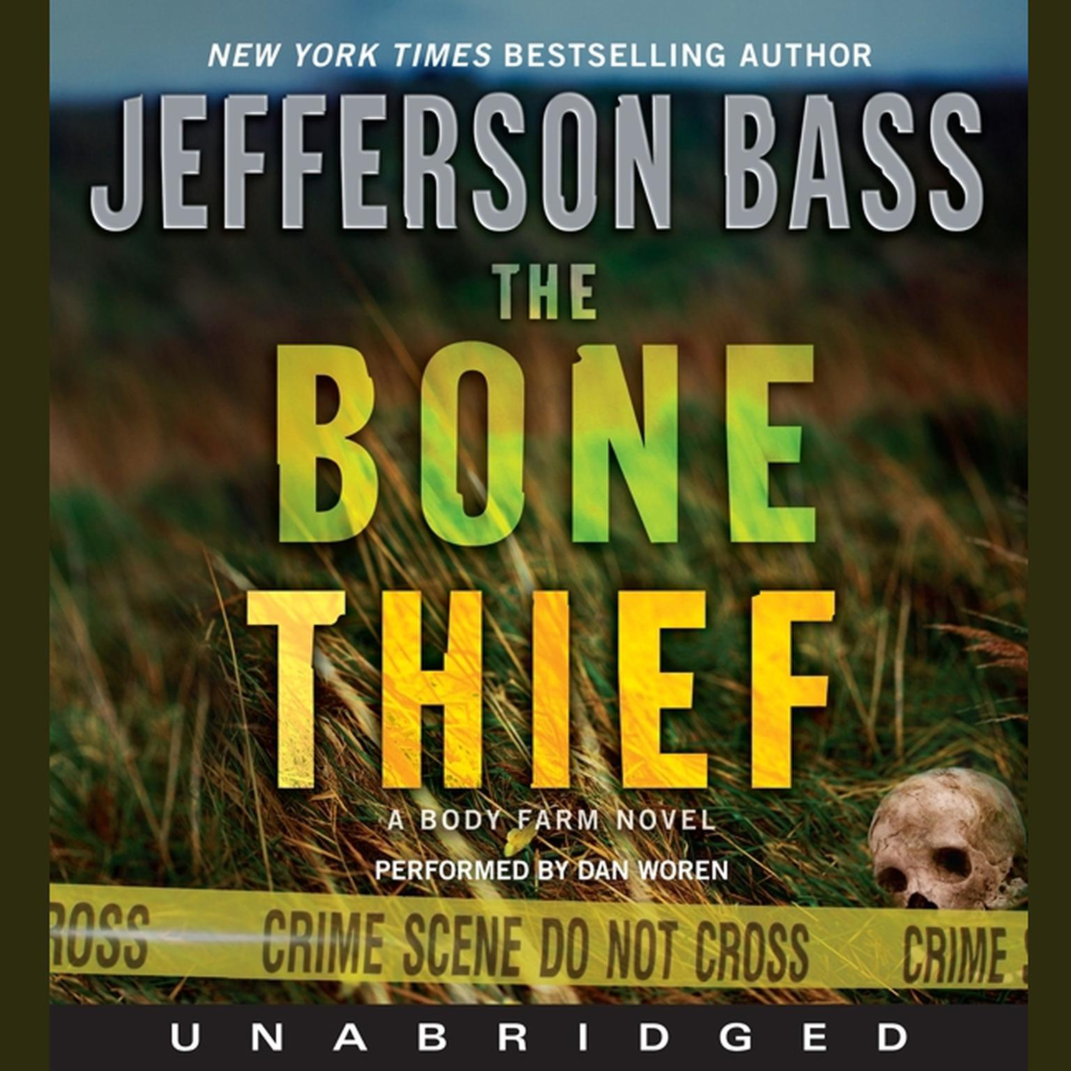 Printable The Bone Thief: A Body Farm Novel Audiobook Cover Art