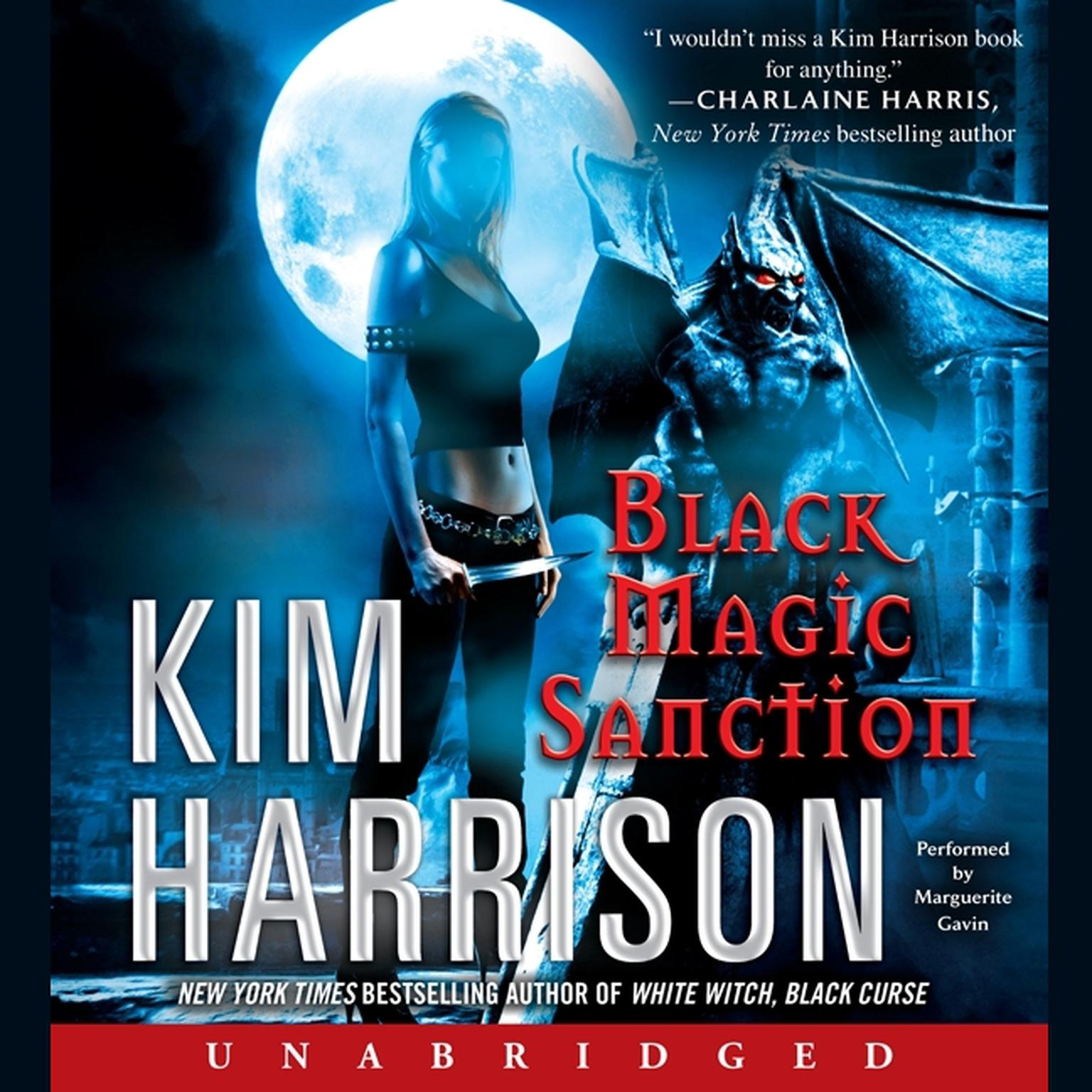 Printable Black Magic Sanction Audiobook Cover Art
