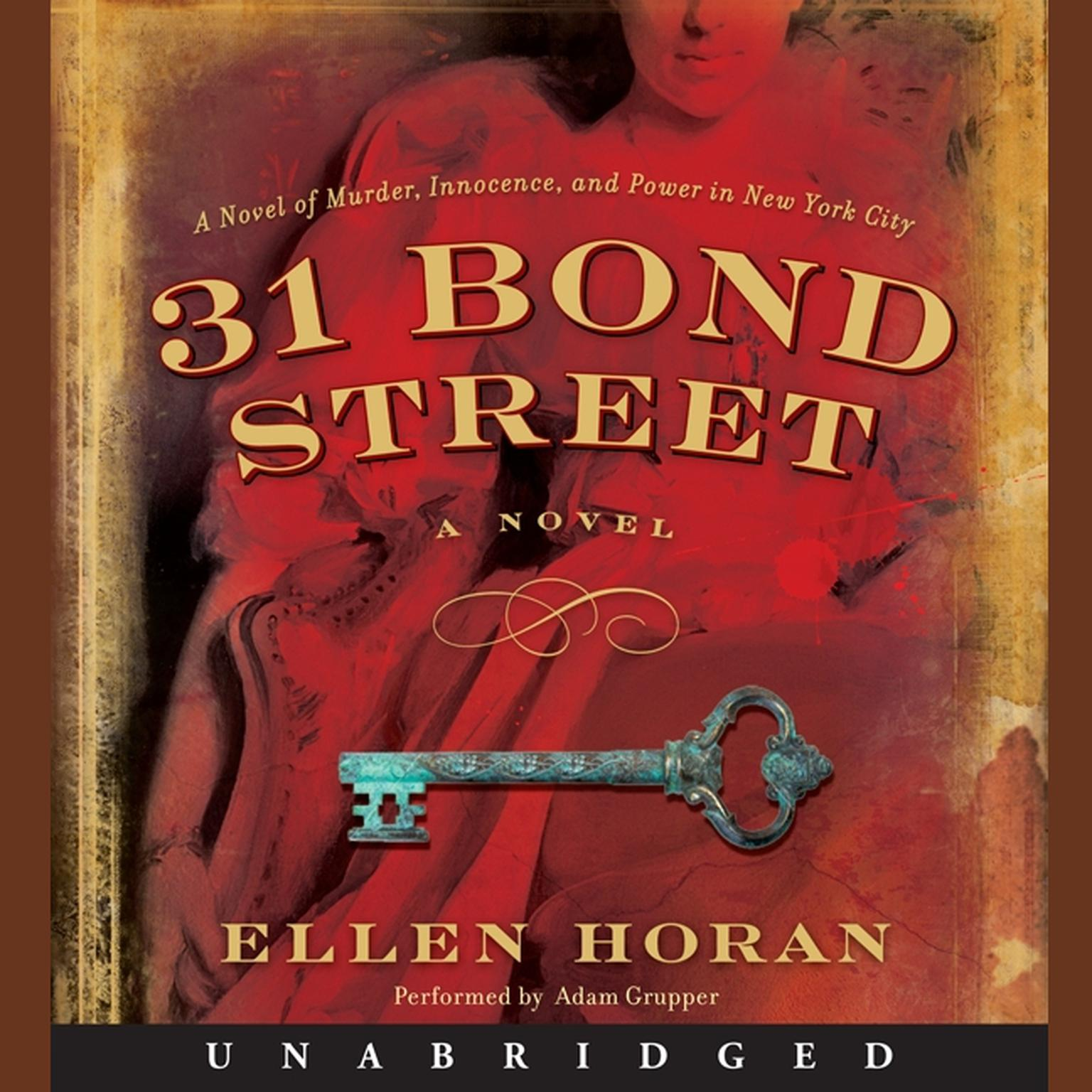 Printable 31 Bond Street: A Novel Audiobook Cover Art