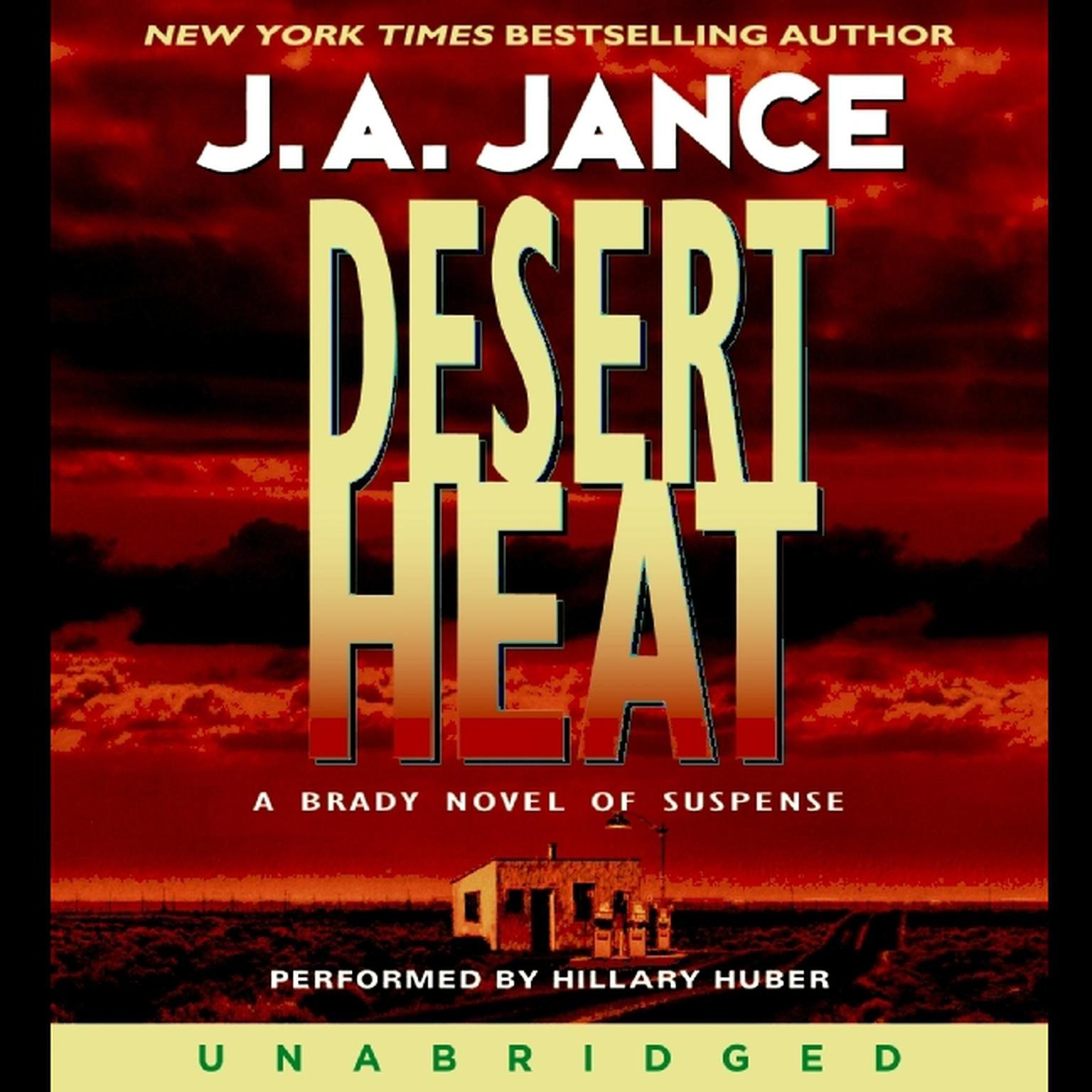 Printable Desert Heat Audiobook Cover Art