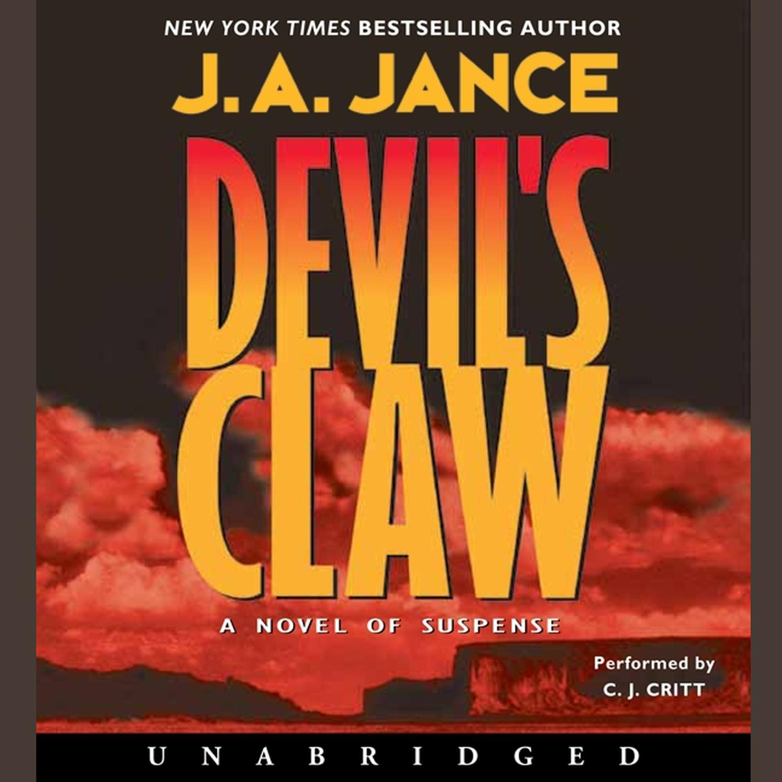 Printable Devil's Claw Audiobook Cover Art