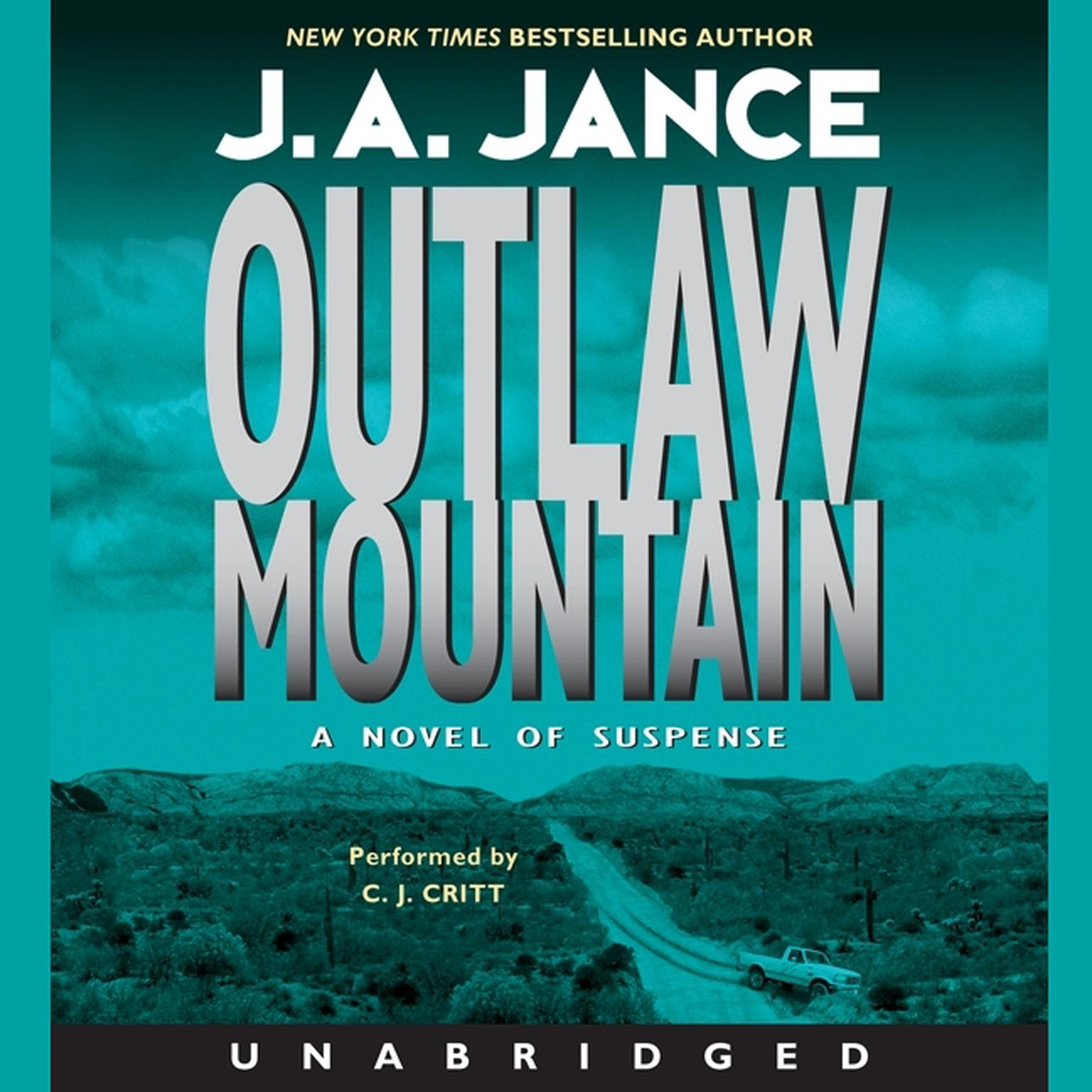 Printable Outlaw Mountain Audiobook Cover Art