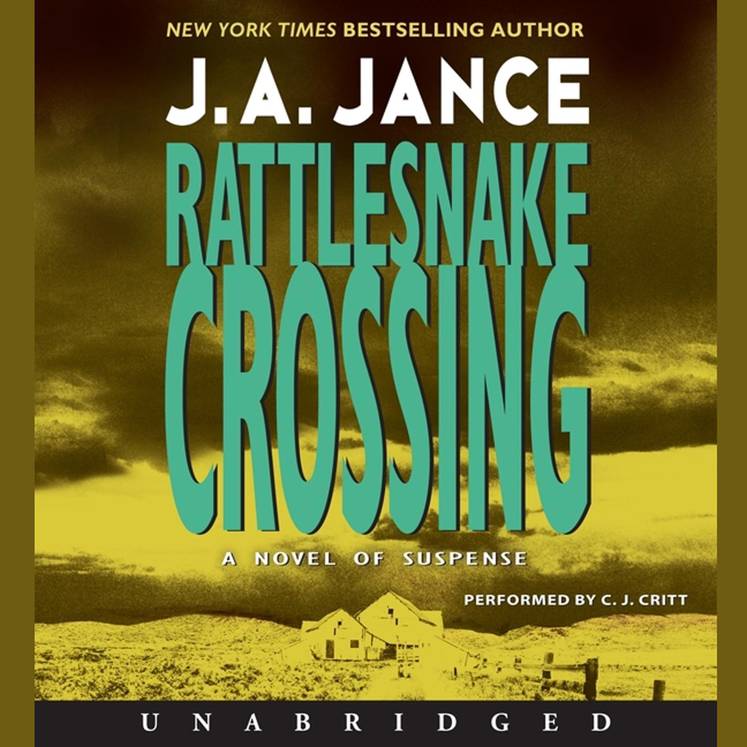 Printable Rattlesnake Crossing: A Joanna Brady Mystery Audiobook Cover Art