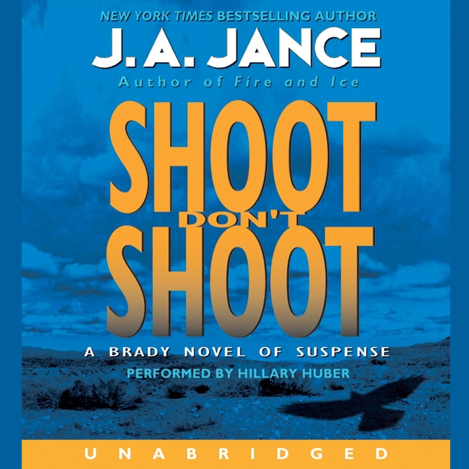Printable Shoot Don't Shoot Audiobook Cover Art