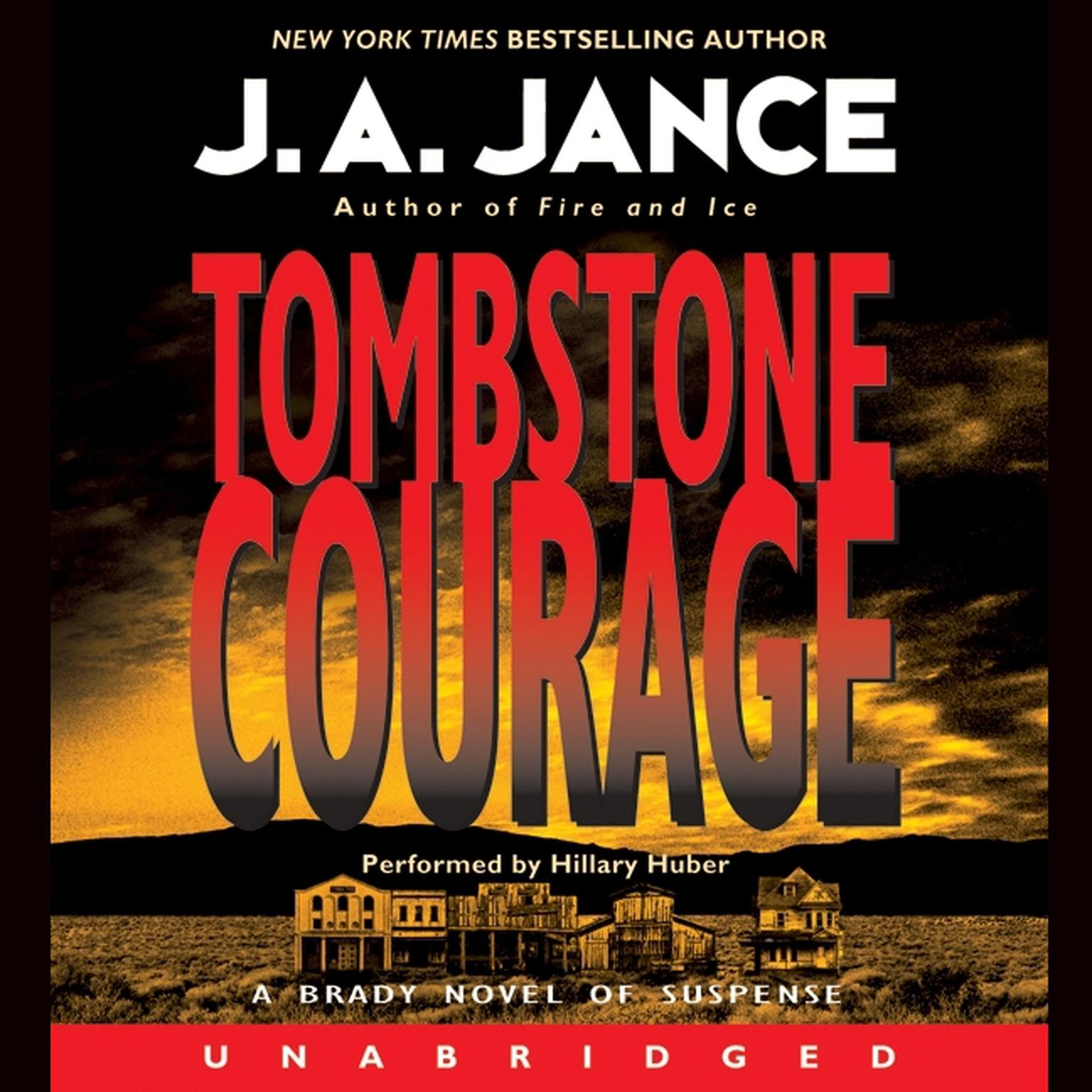 Printable Tombstone Courage Audiobook Cover Art