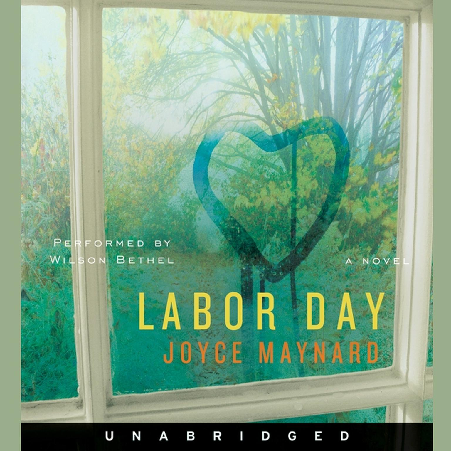 Printable Labor Day Audiobook Cover Art