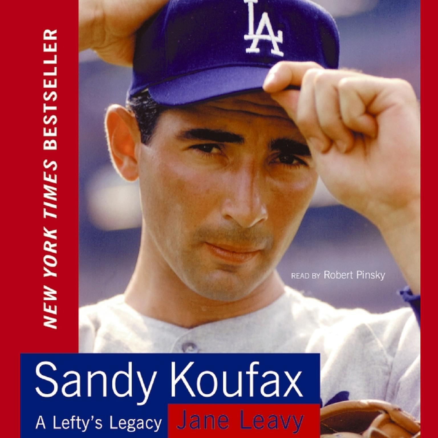 Printable Sandy Koufax Audiobook Cover Art