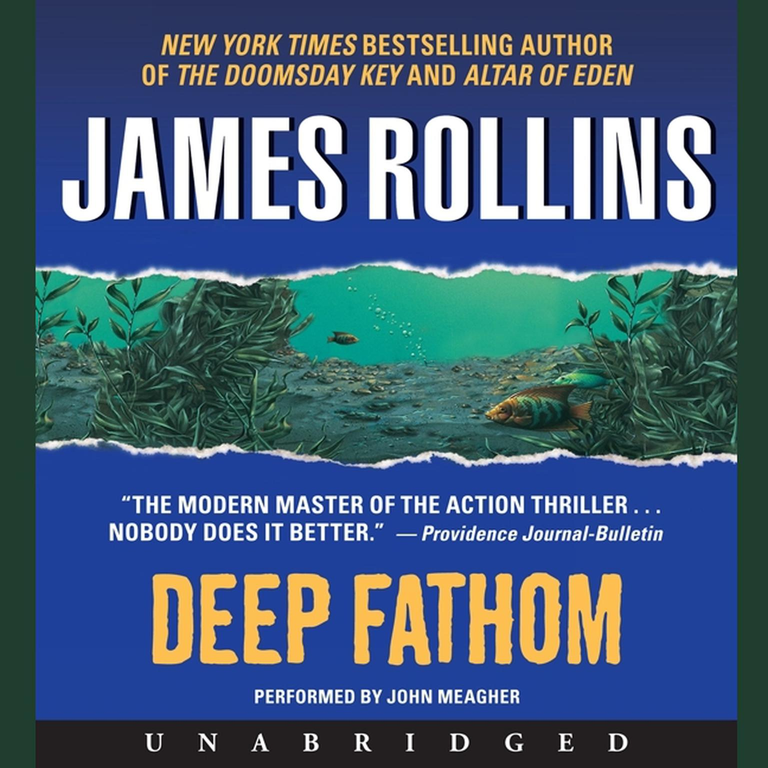 Printable Deep Fathom Audiobook Cover Art