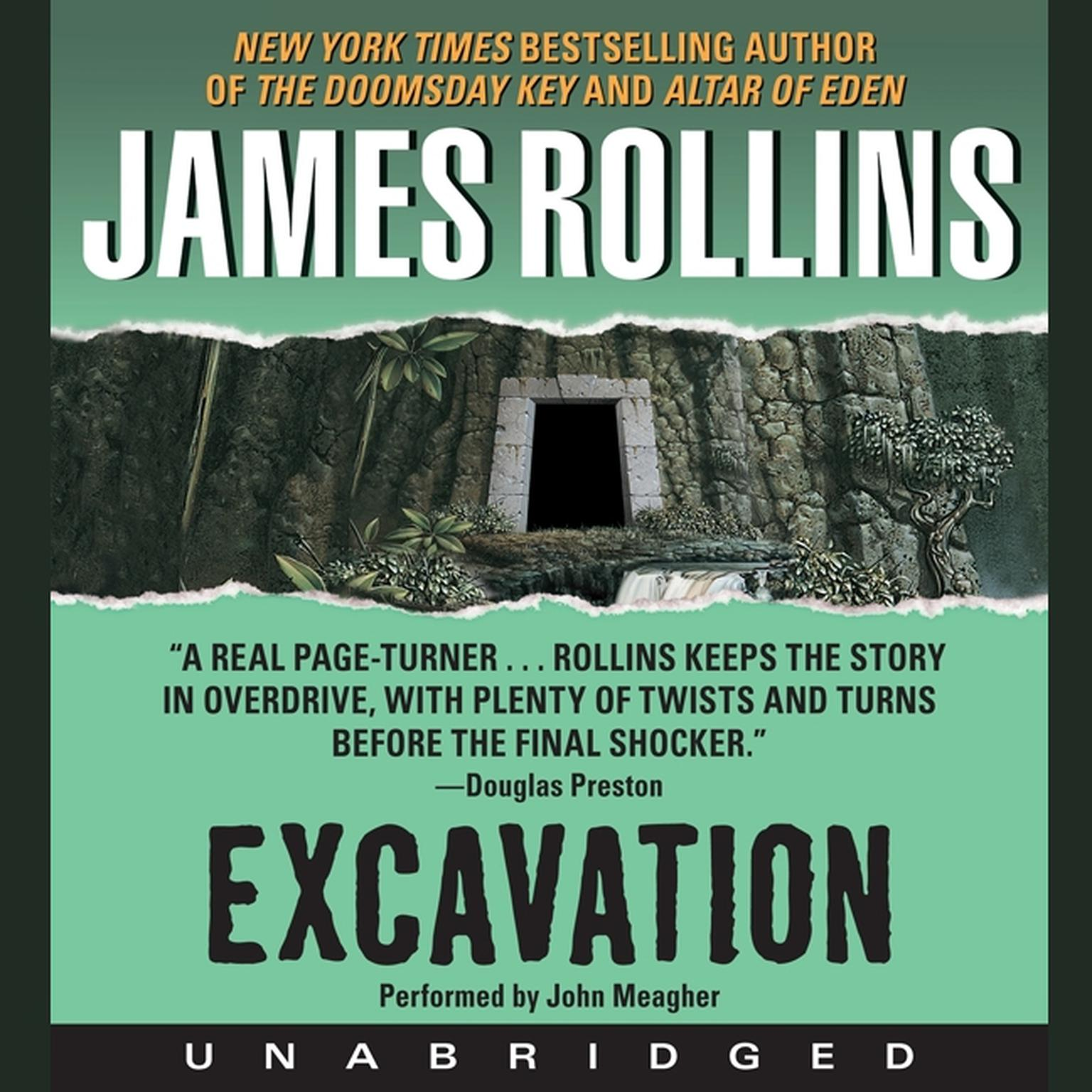 Printable Excavation Audiobook Cover Art