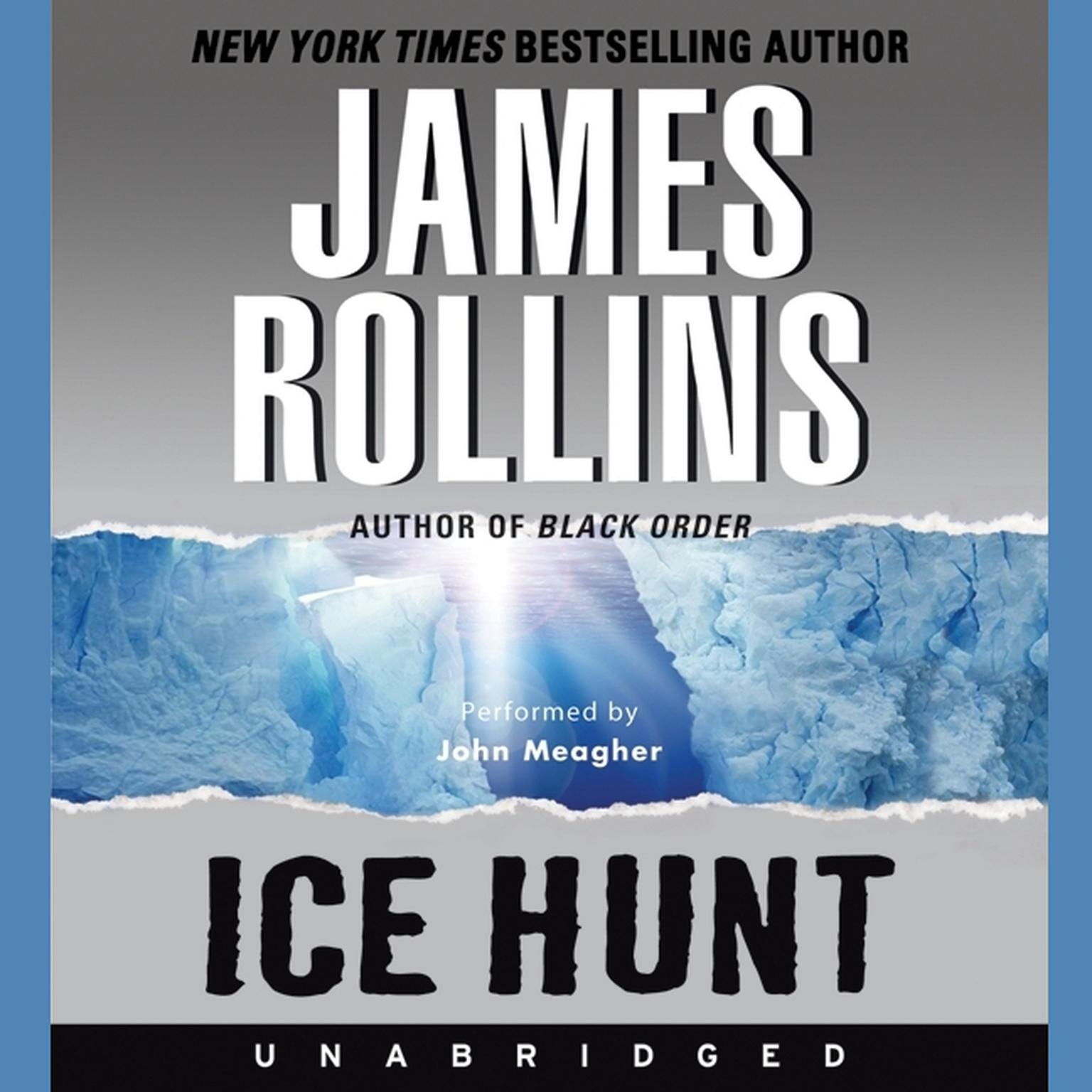 Printable Ice Hunt Audiobook Cover Art