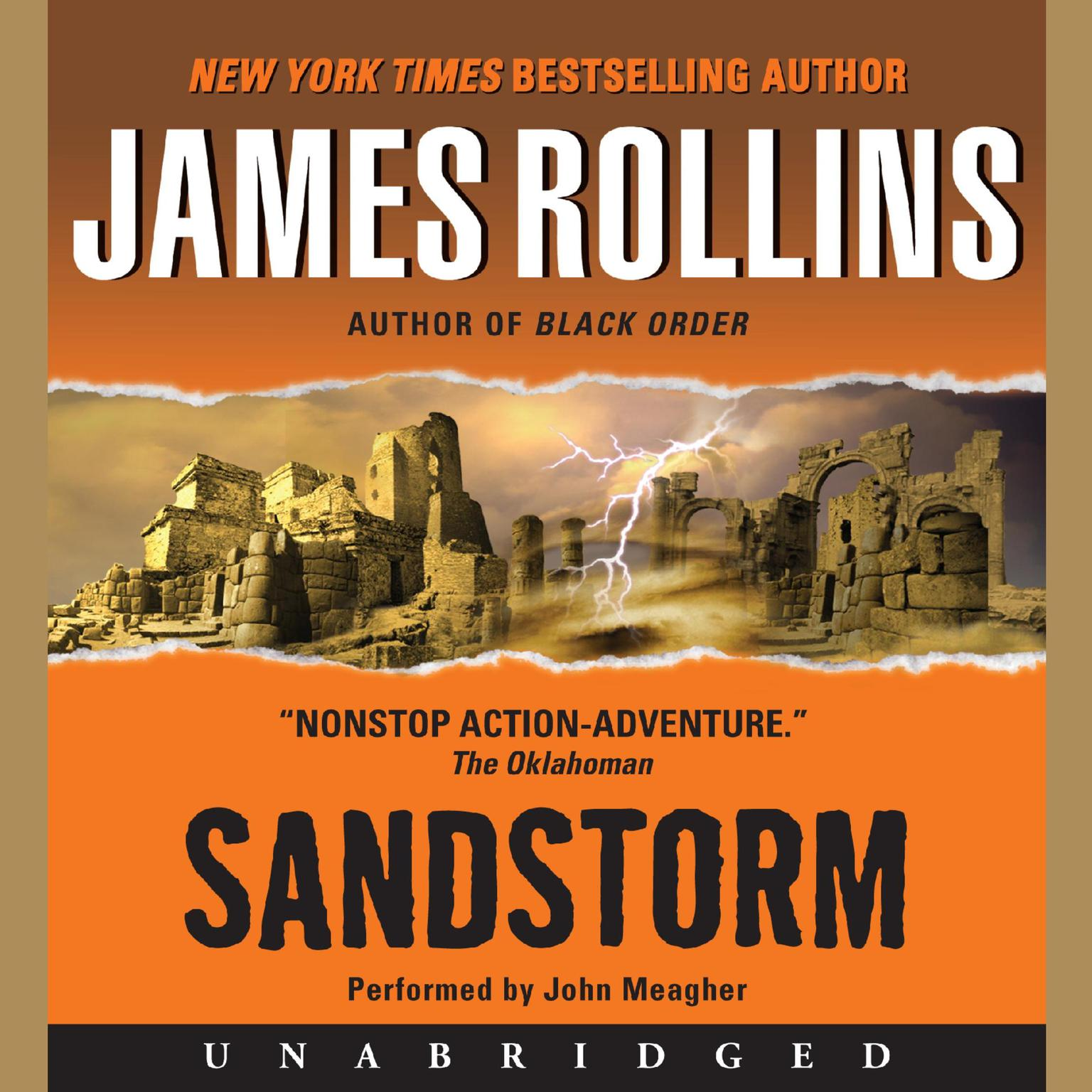 Printable Sandstorm Audiobook Cover Art