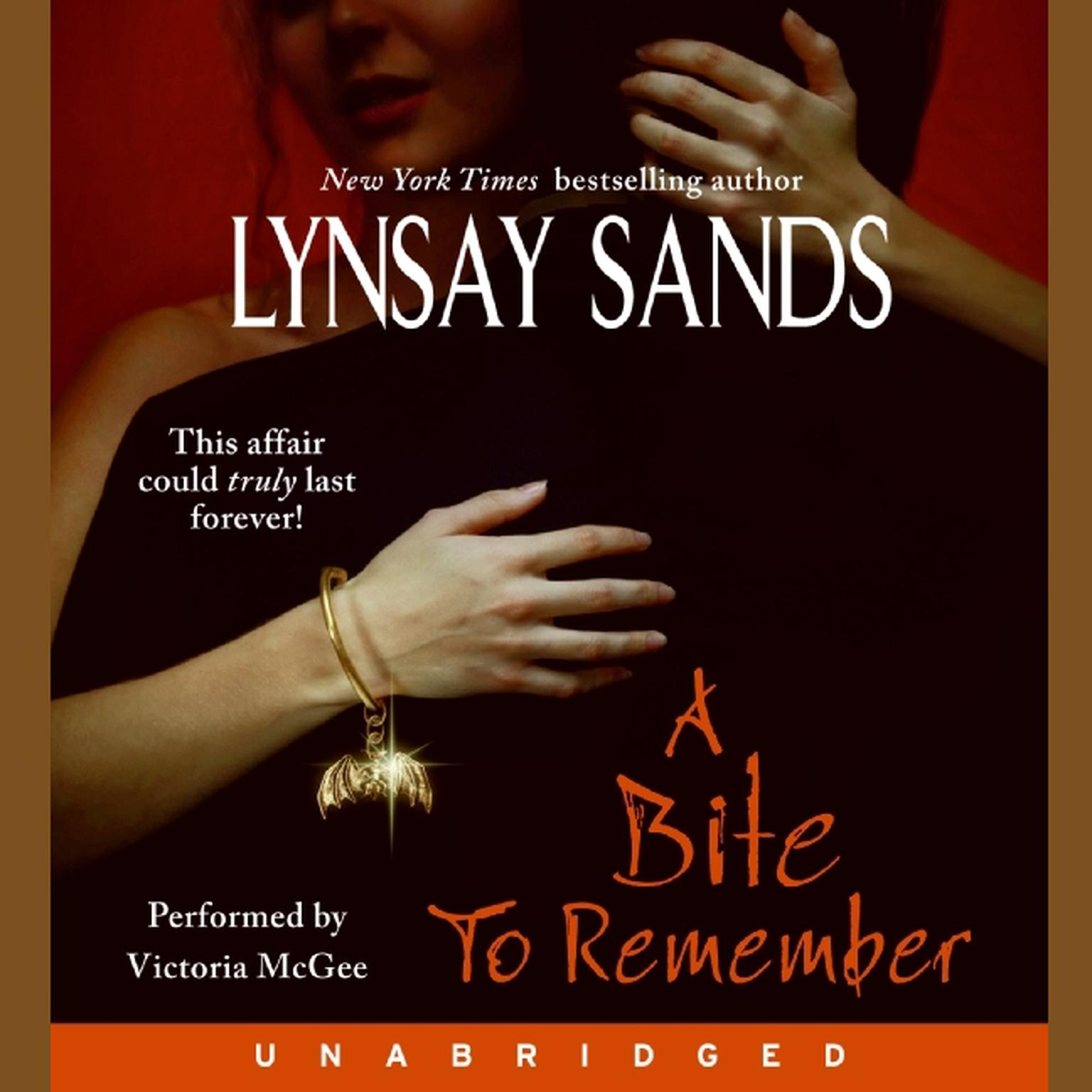 Printable A Bite to Remember Audiobook Cover Art