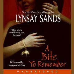 A Bite to Remember Audiobook, by Lynsay Sands