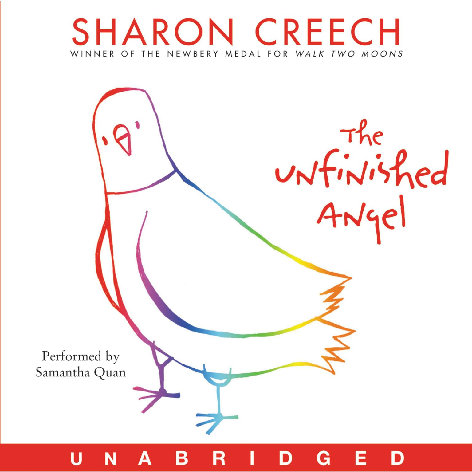 Printable The Unfinished Angel Audiobook Cover Art