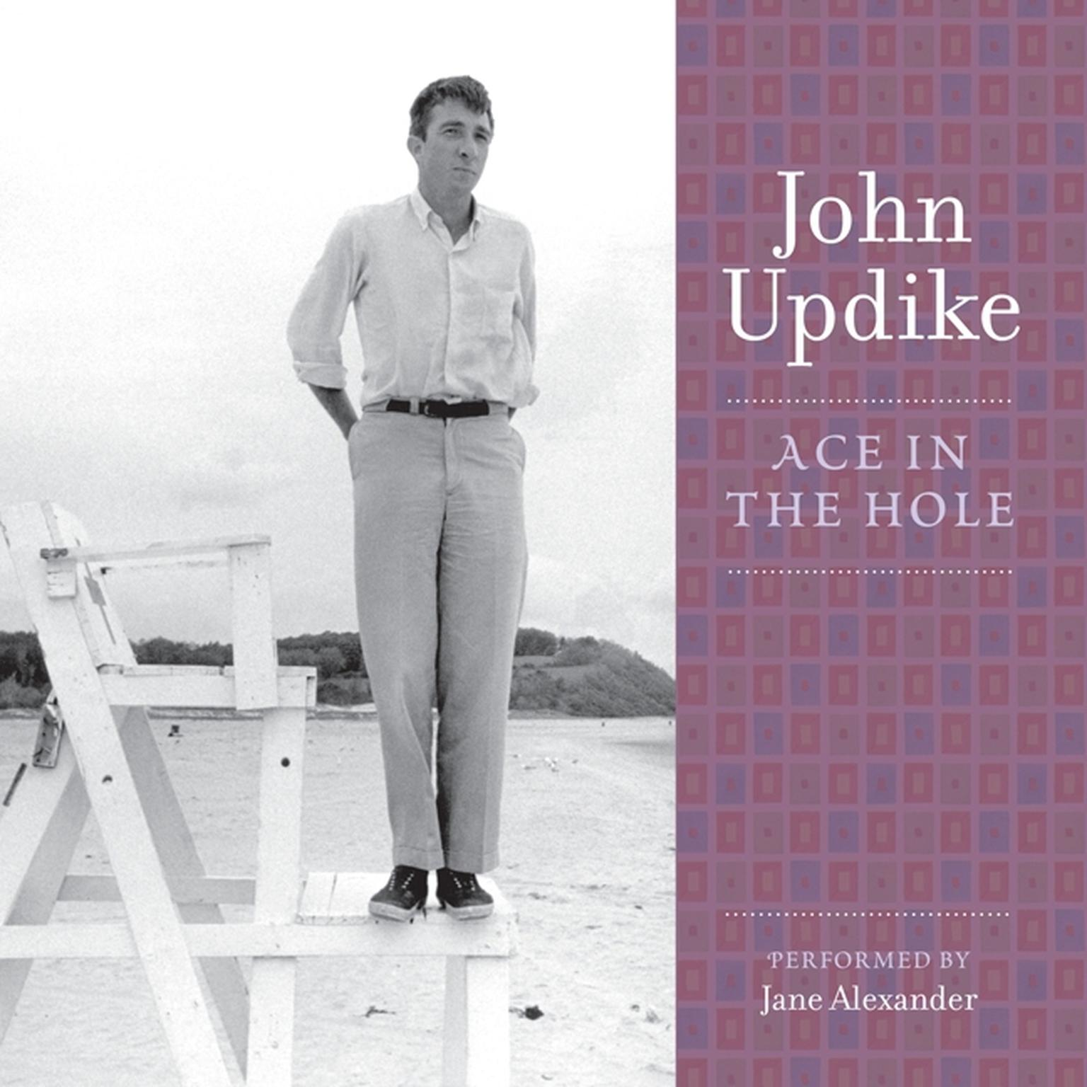 Printable Ace in the Hole: A Selection from the John Updike Audio Collection Audiobook Cover Art