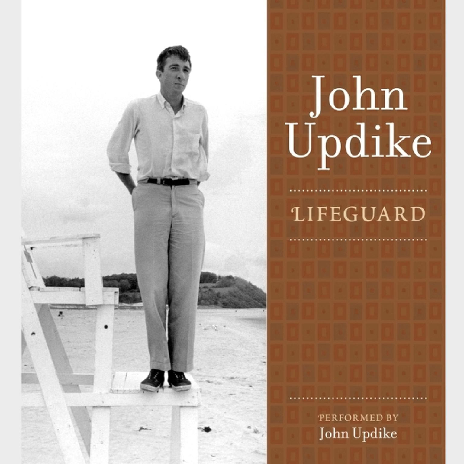 Printable Lifeguard: A Selection from the John Updike Audio Collection Audiobook Cover Art