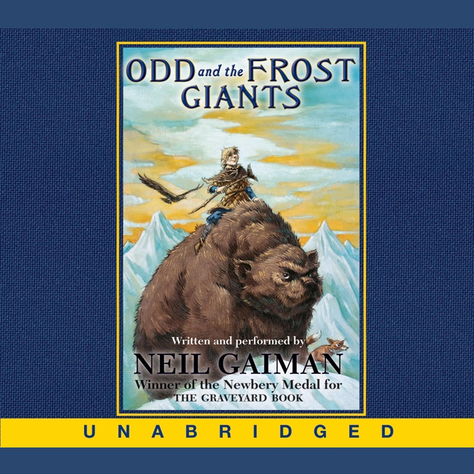 Printable Odd and the Frost Giants Audiobook Cover Art