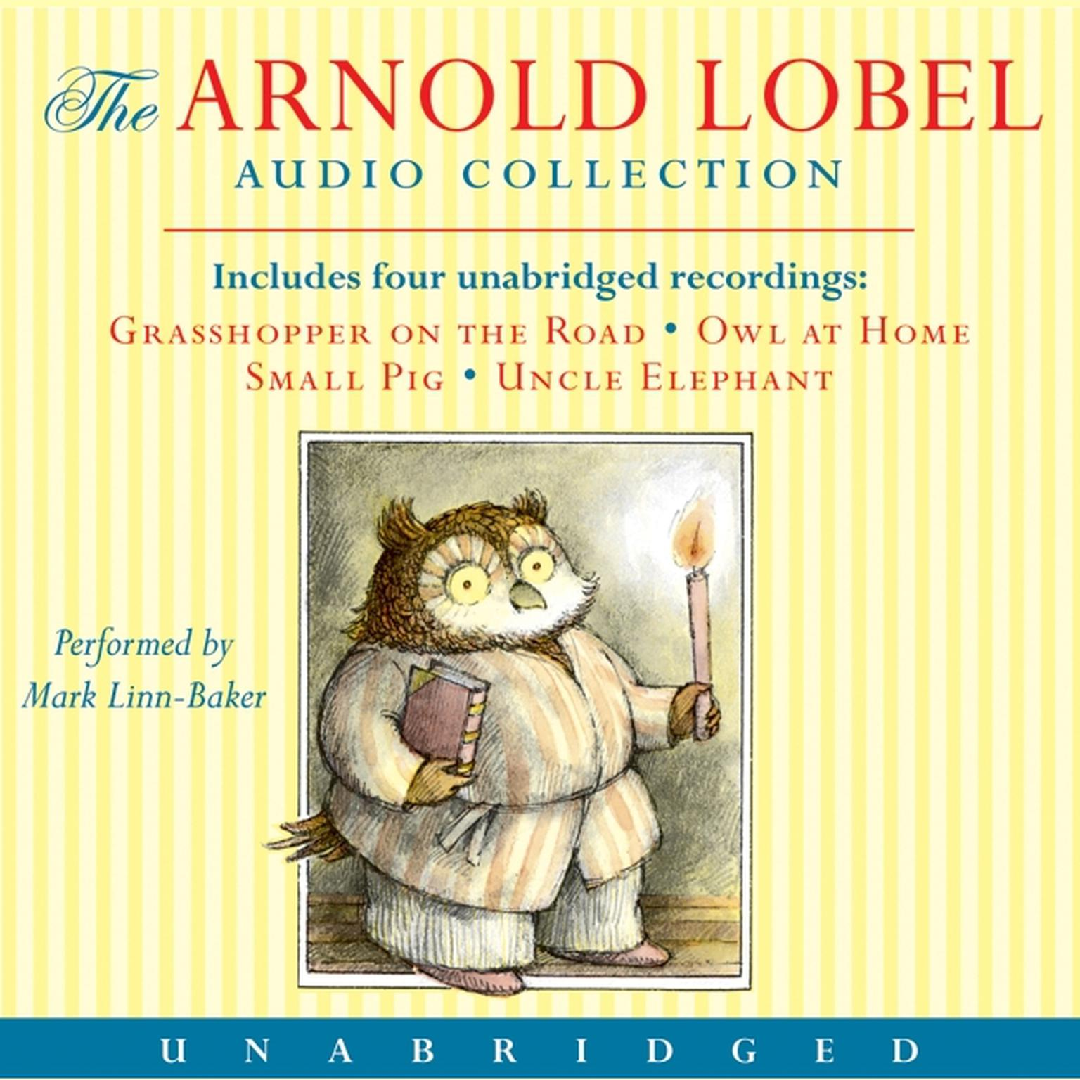 Printable Arnold Lobel Audio Collection Audiobook Cover Art