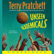 Unseen Academicals Audiobook, by Terry Pratchett