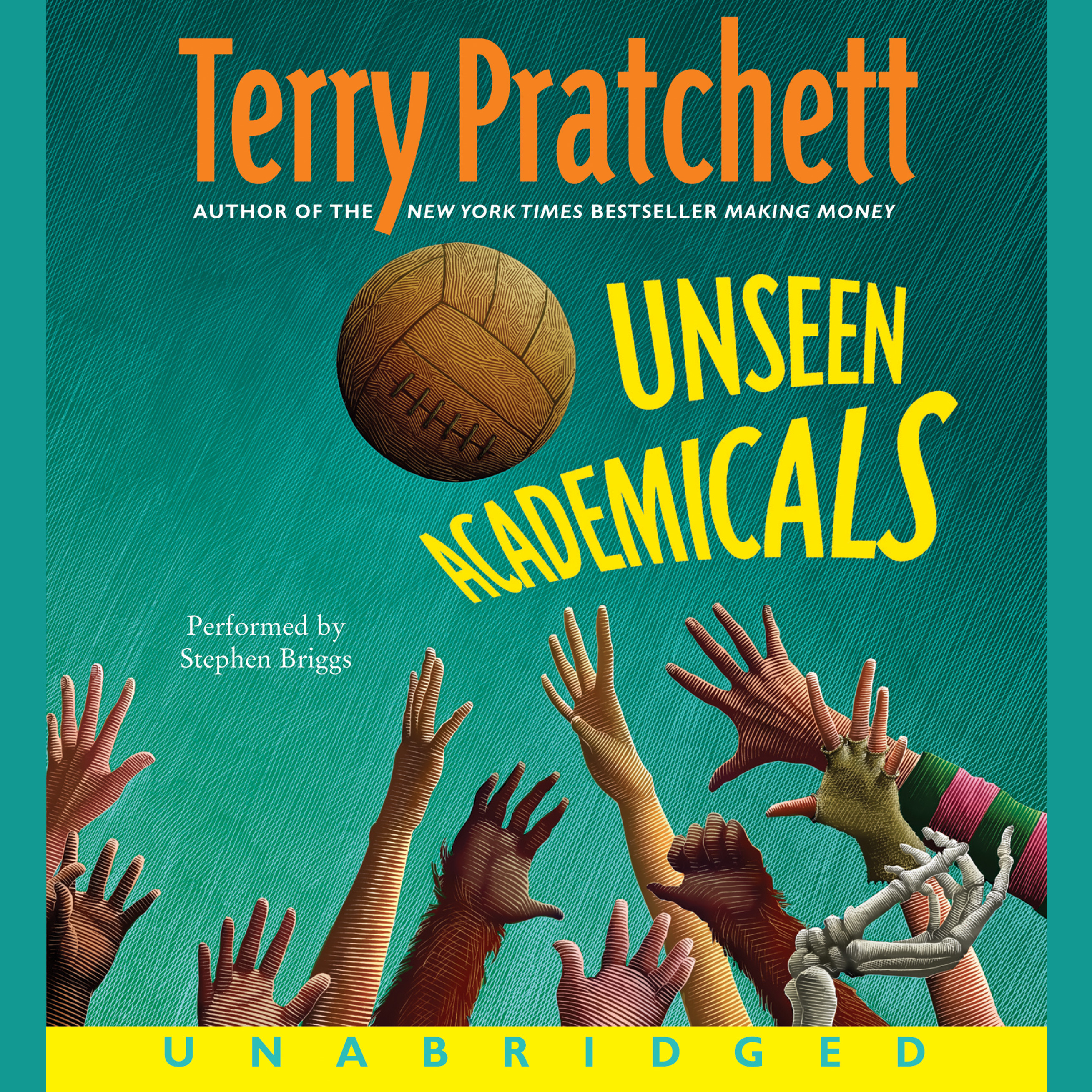 Printable Unseen Academicals Audiobook Cover Art