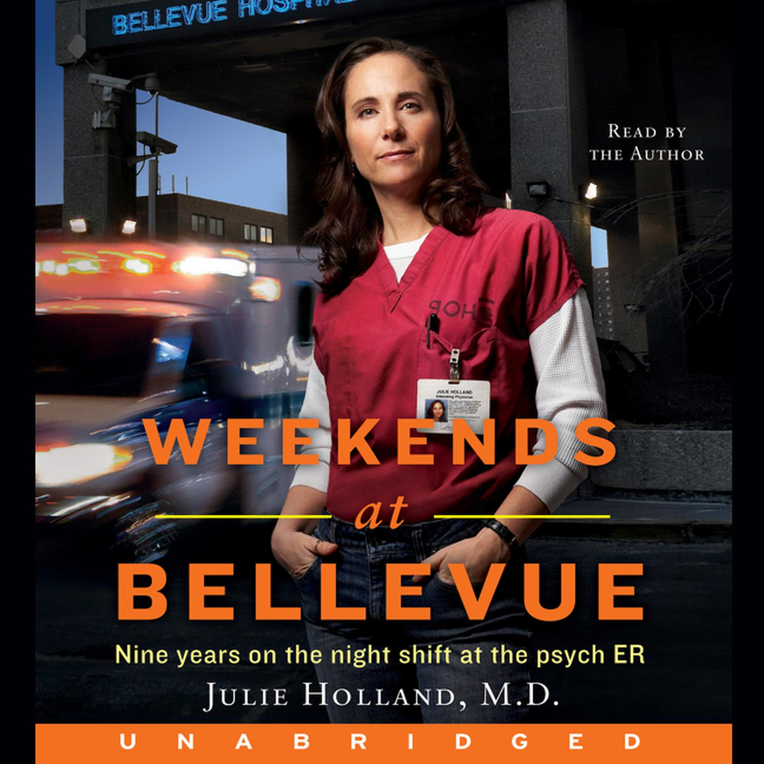Printable Weekends at Bellevue Audiobook Cover Art