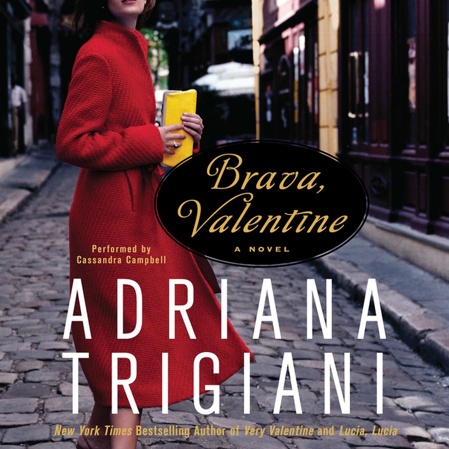 Printable Brava, Valentine Audiobook Cover Art