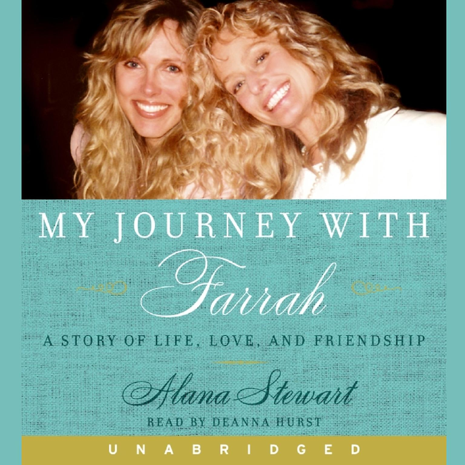 Printable My Journey with Farrah Audiobook Cover Art