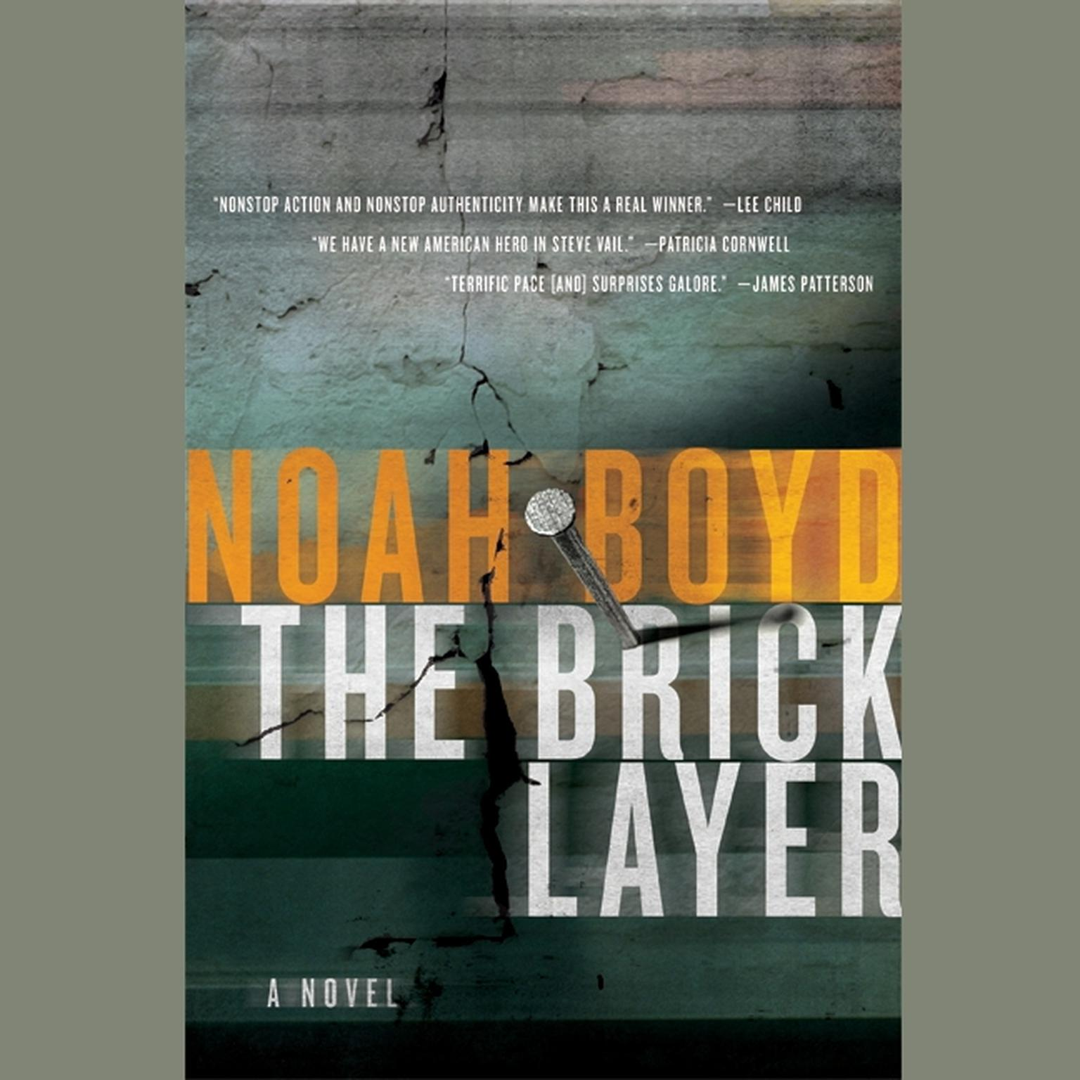 Printable The Bricklayer: A Novel Audiobook Cover Art