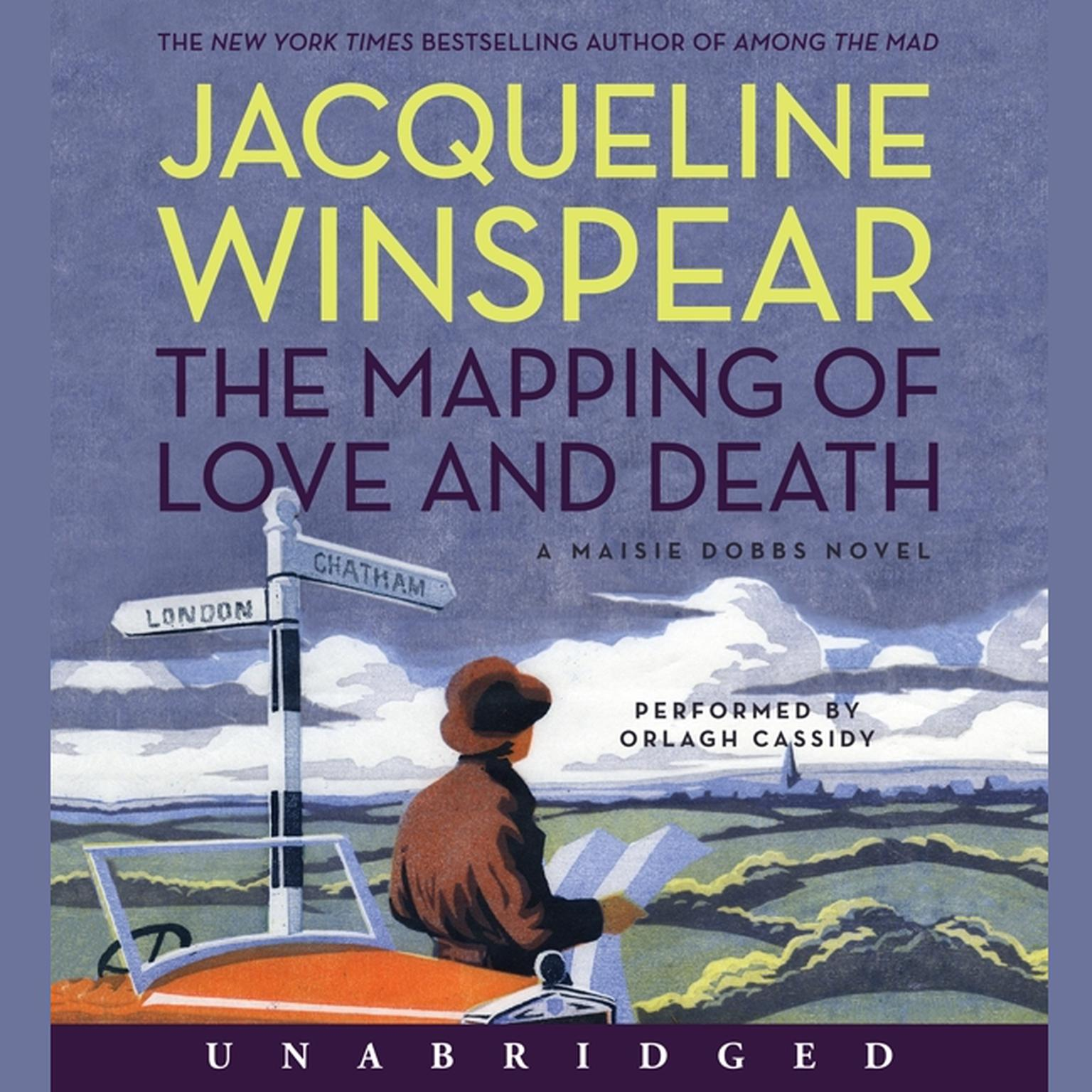 Printable The Mapping of Love and Death: A Maisie Dobbs Novel Audiobook Cover Art