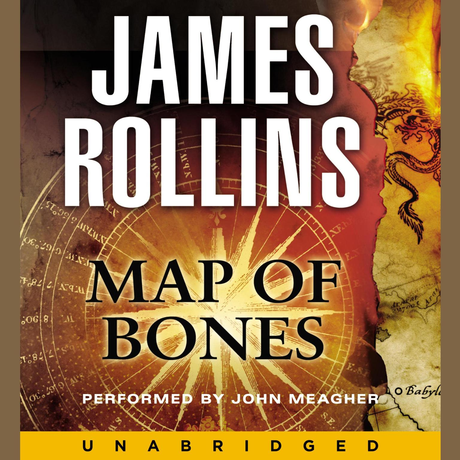 Printable Map of Bones: A Sigma Force Novel Audiobook Cover Art