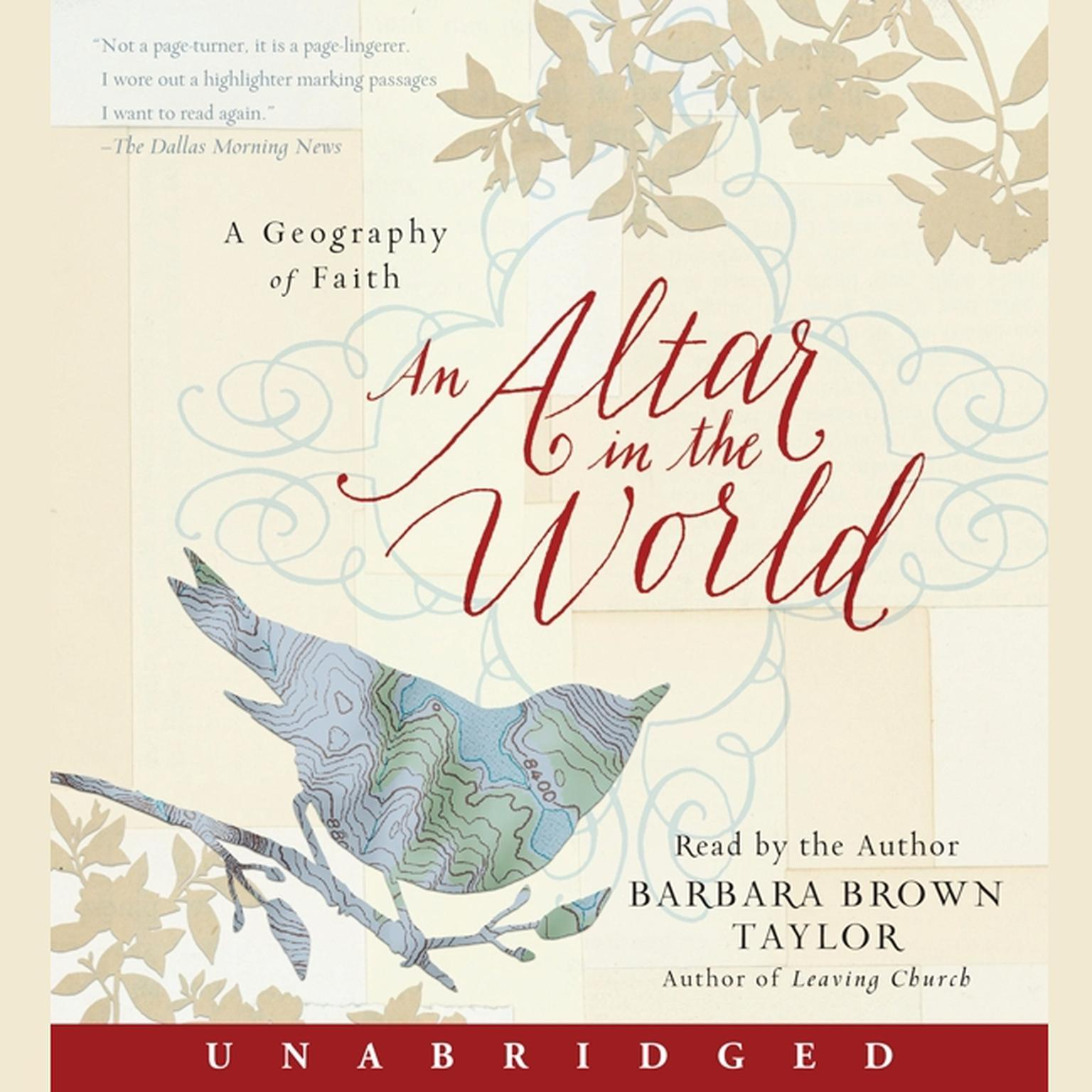 Printable An Altar in the World: A Geography of Faith Audiobook Cover Art