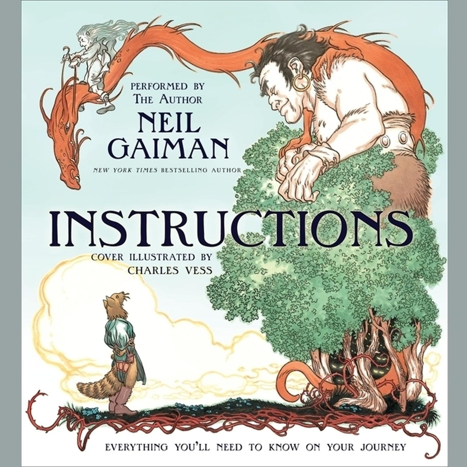 Printable Instructions Audiobook Cover Art