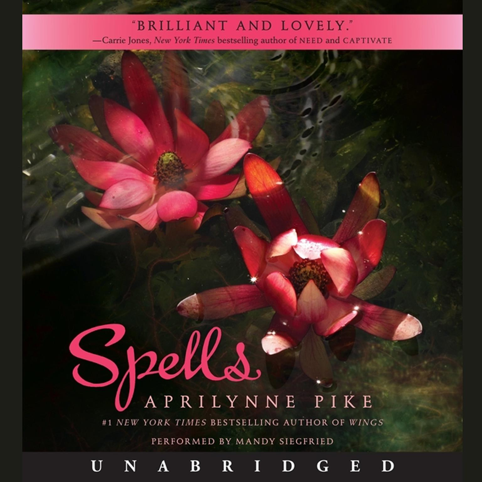 Printable Spells Audiobook Cover Art