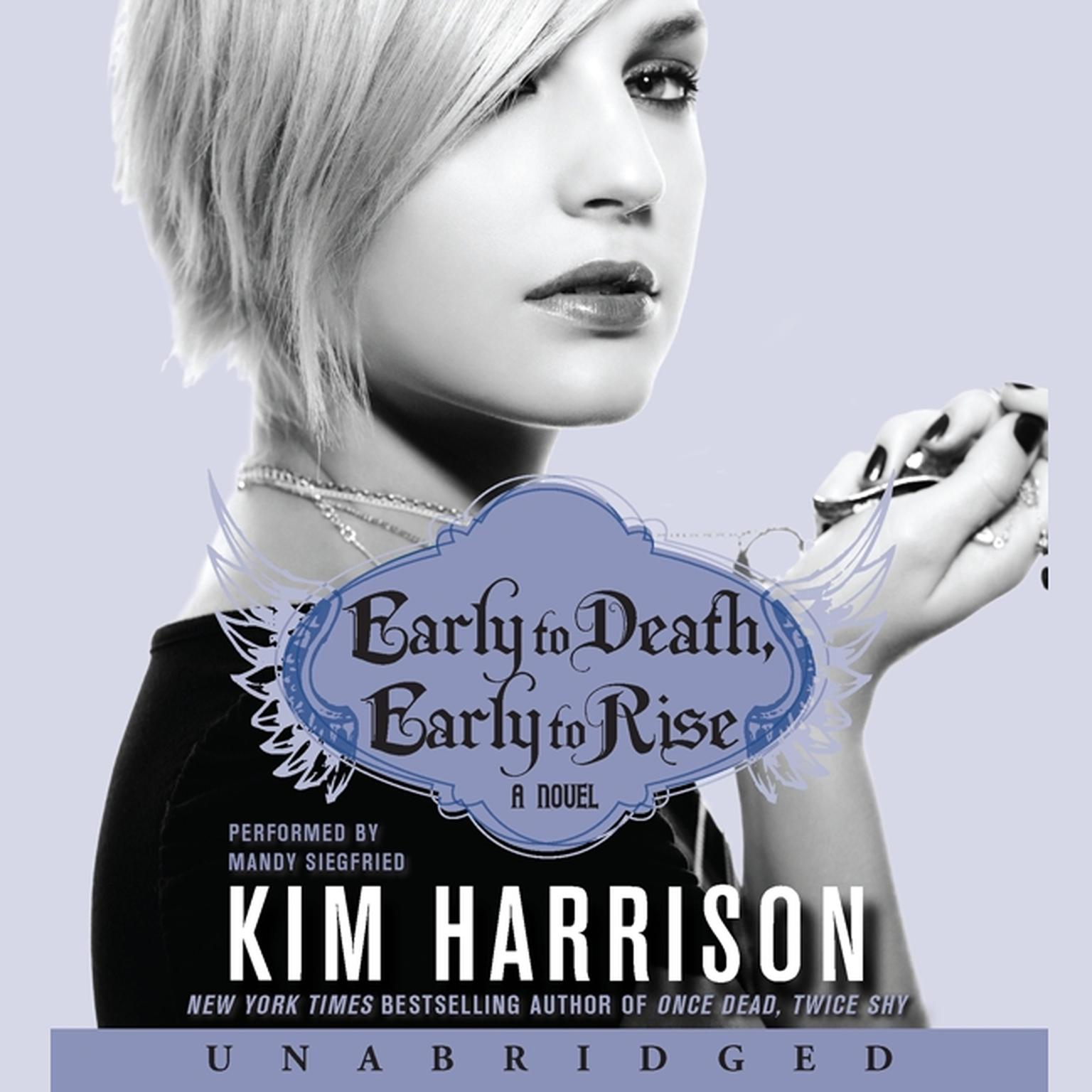 Printable Early to Death, Early to Rise Audiobook Cover Art