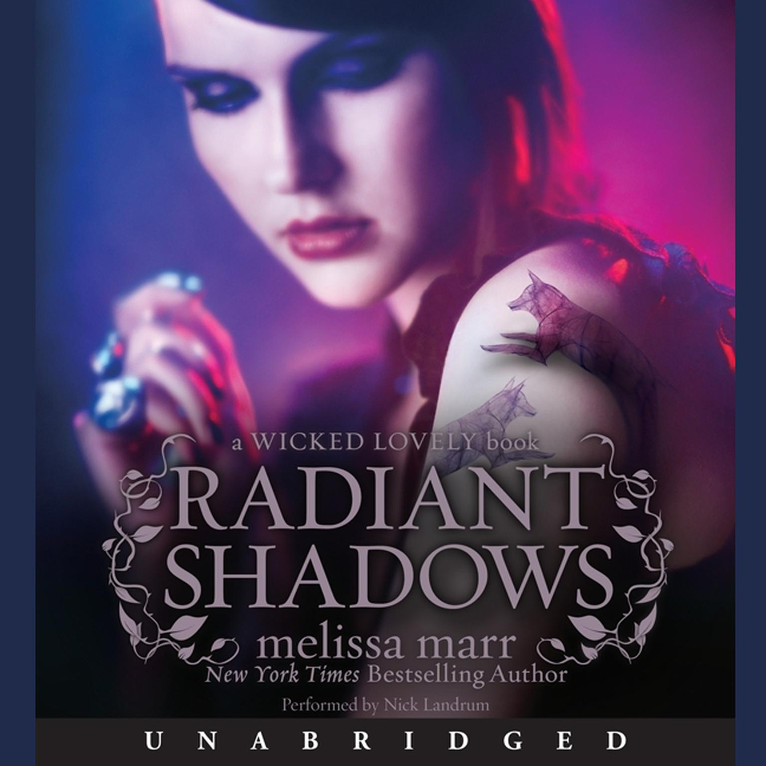 Printable Radiant Shadows Audiobook Cover Art