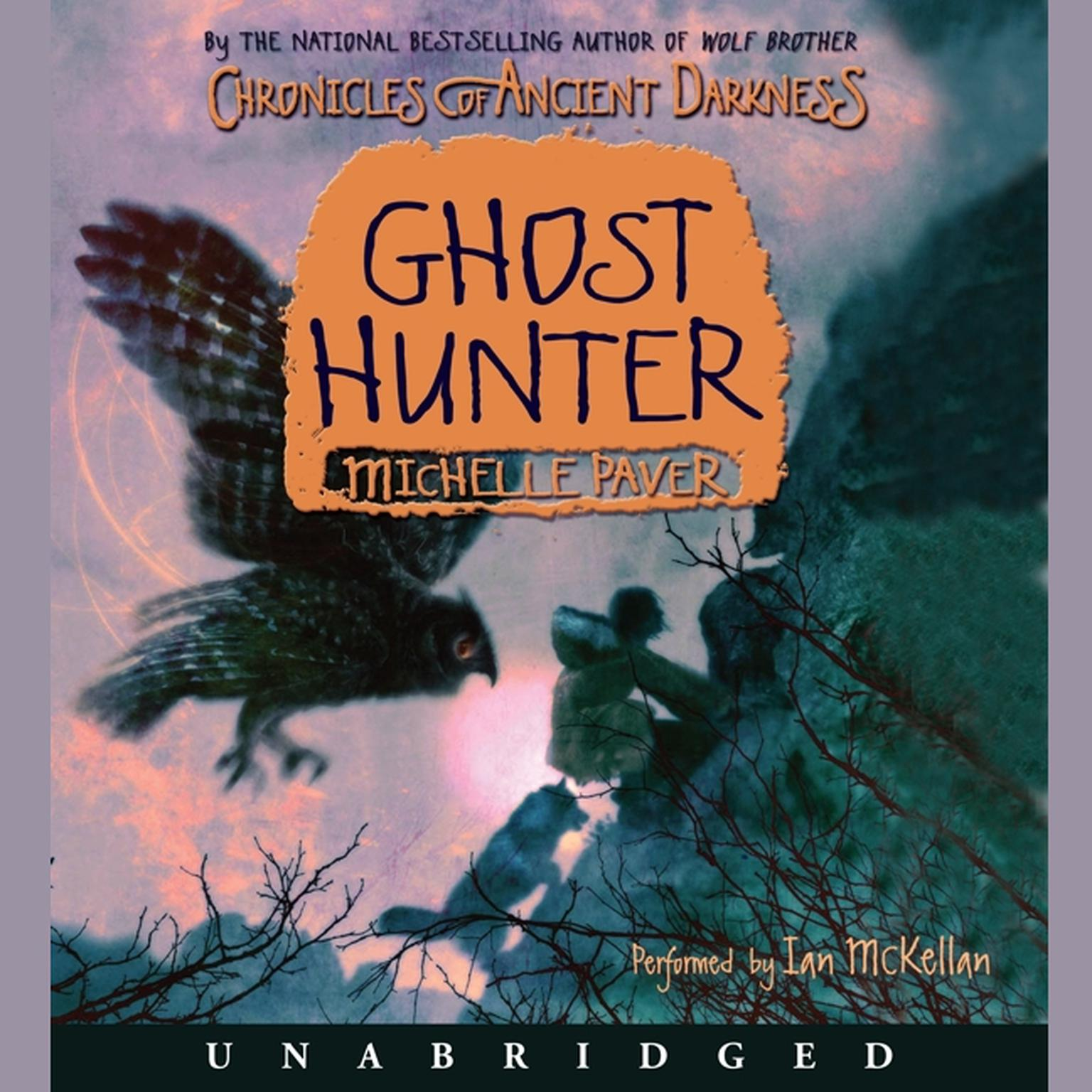 Printable Chronicles of Ancient Darkness #6: Ghost Hunter Audiobook Cover Art