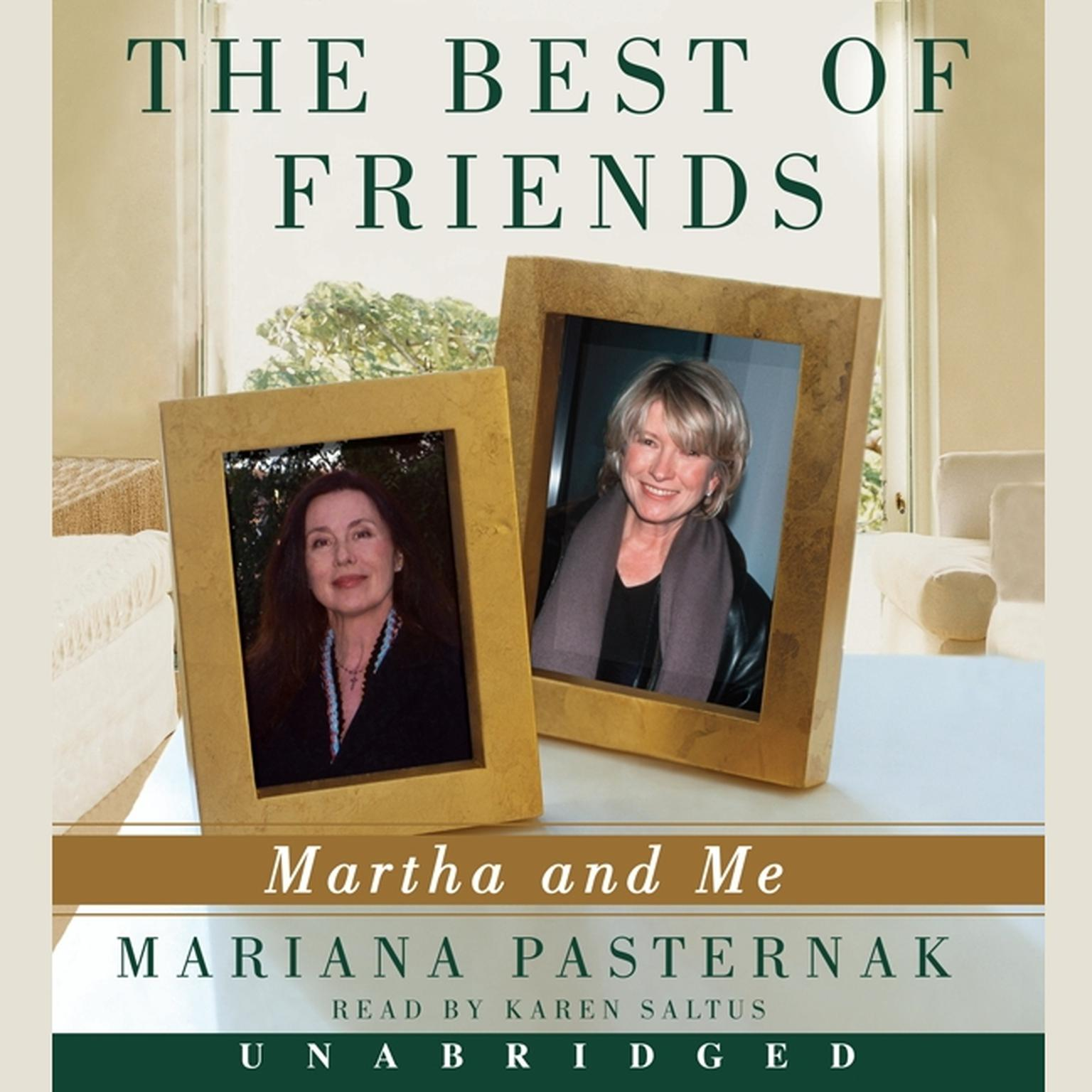 Printable The Best of Friends: Martha and Me Audiobook Cover Art