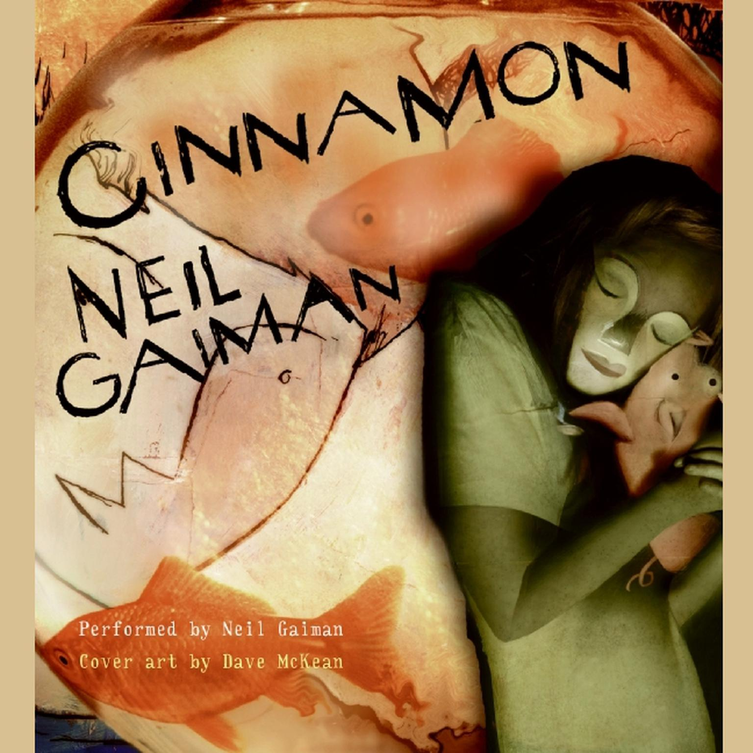 Printable Cinnamon Audiobook Cover Art