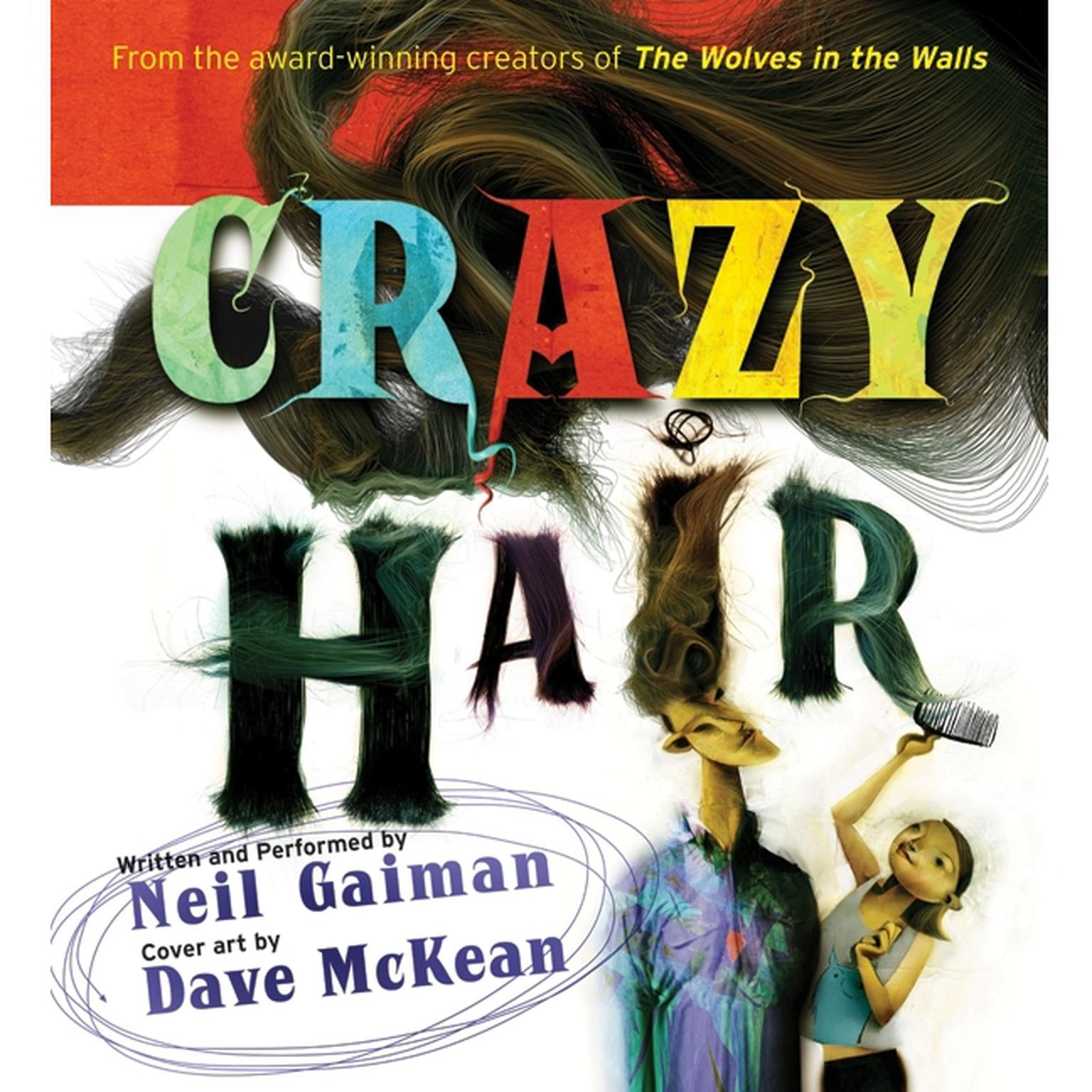 Printable Crazy Hair Audiobook Cover Art