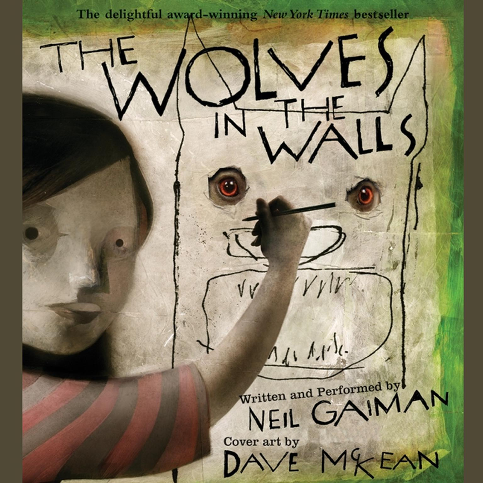 Printable The Wolves in the Walls Audiobook Cover Art